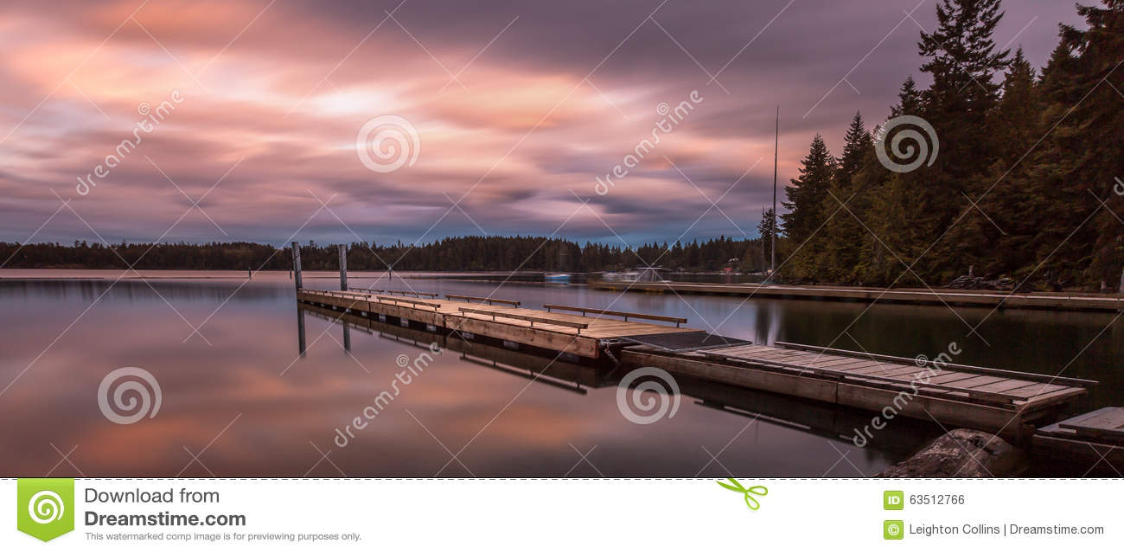 Comox Vancouver Jeziorna wyspa