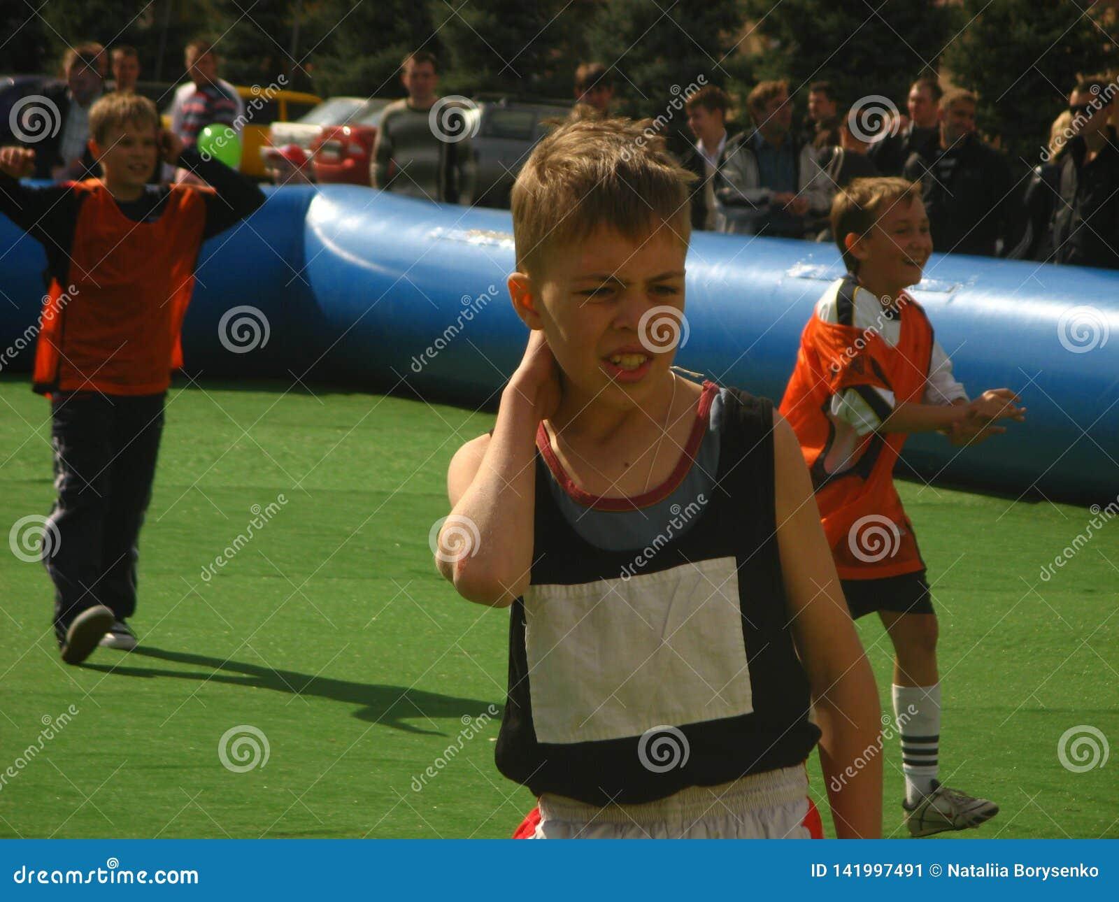 Compétitions sportives de la ville des enfants