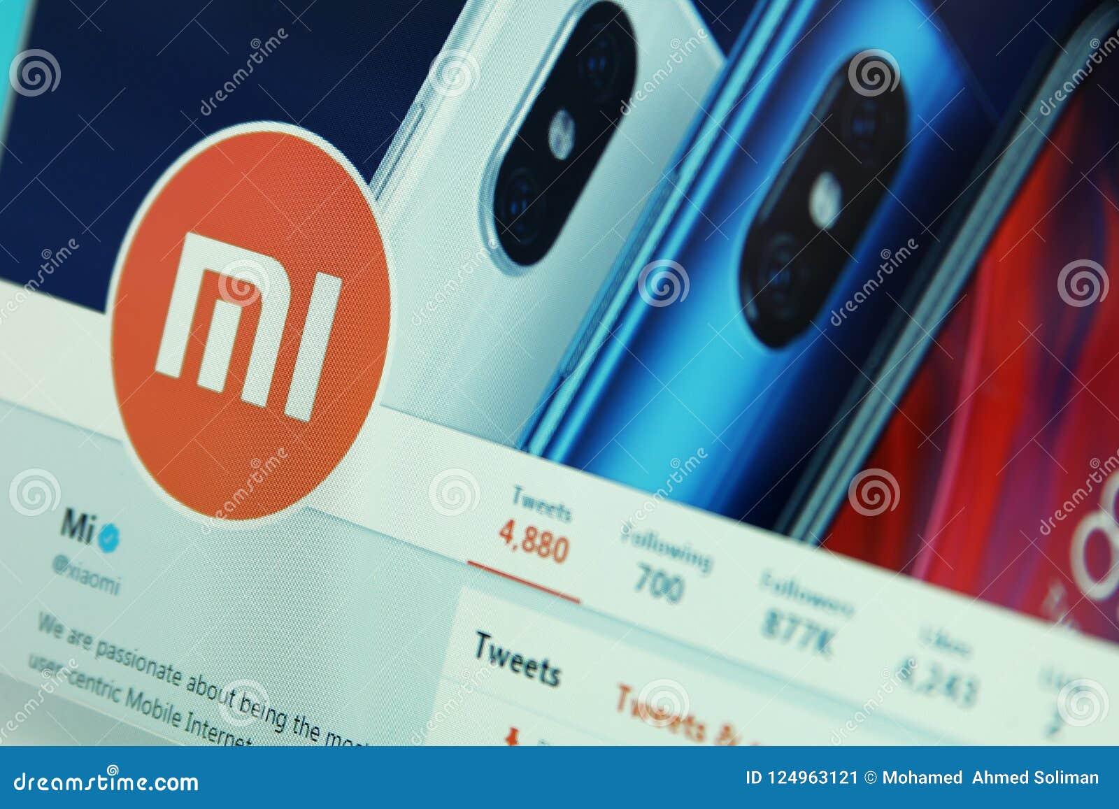 Compañía de Xiaomi en gorjeo