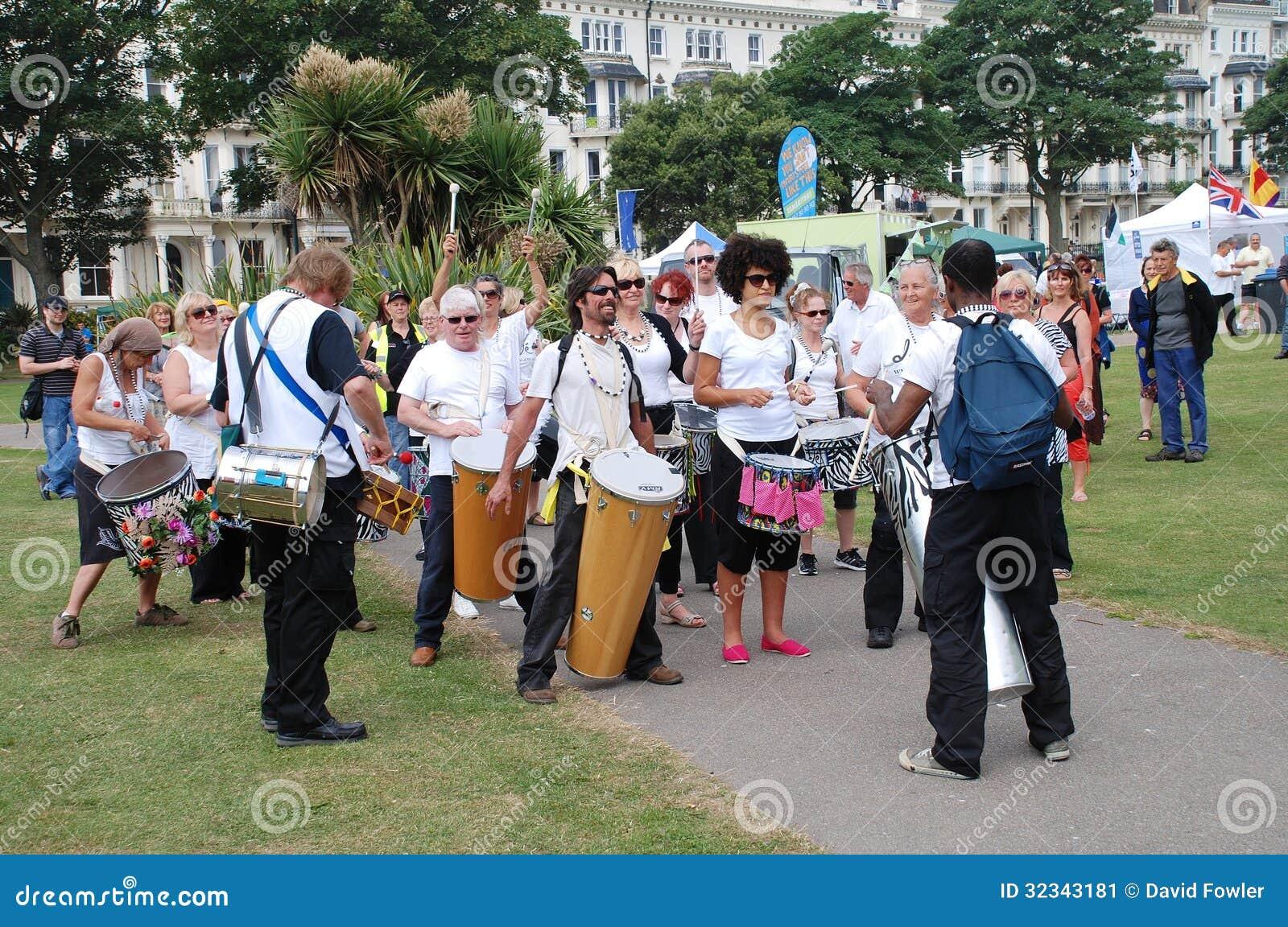 Compañía del tambor de la samba de la nación de Dende