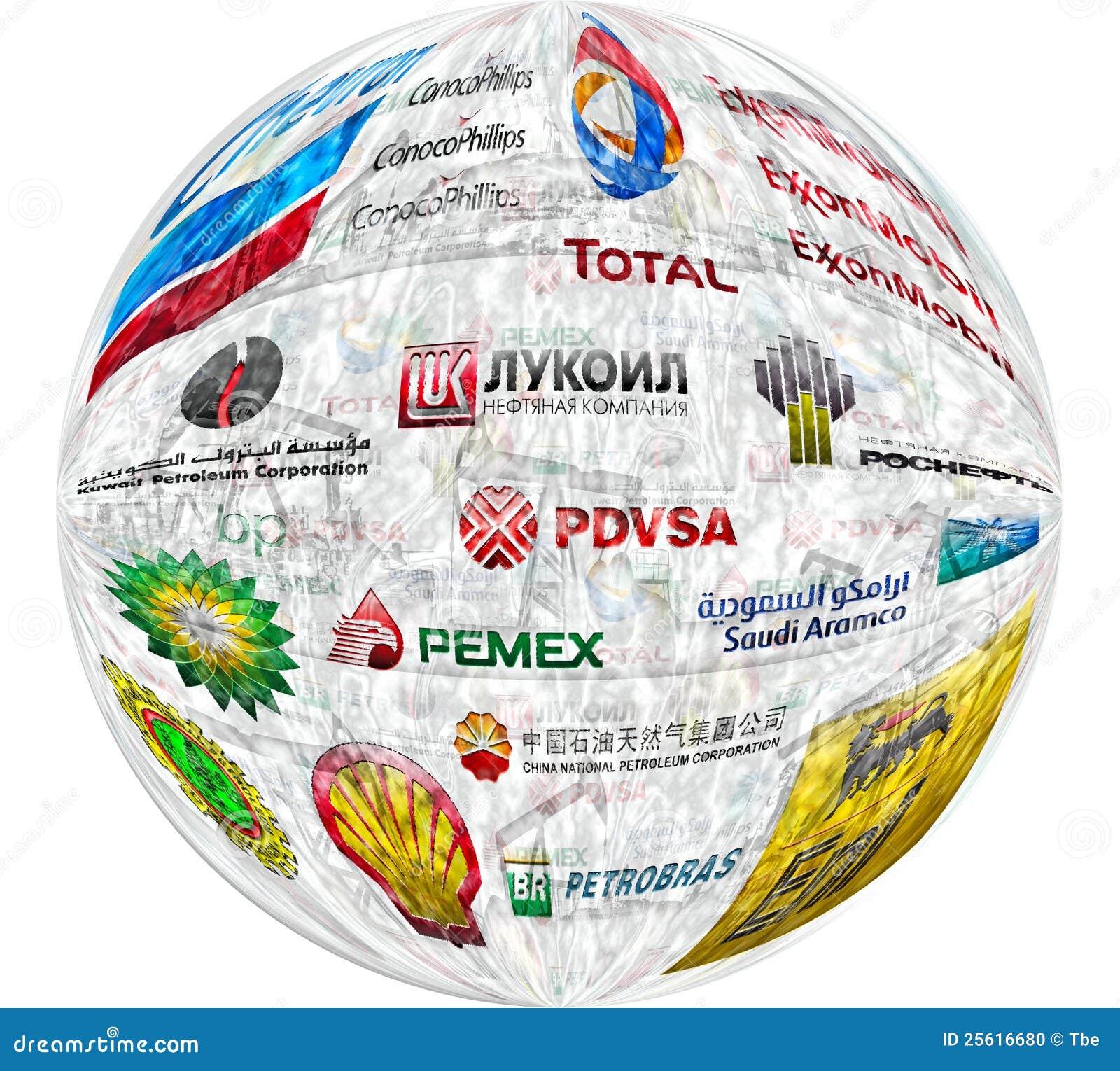 Compañías petroleras grandes