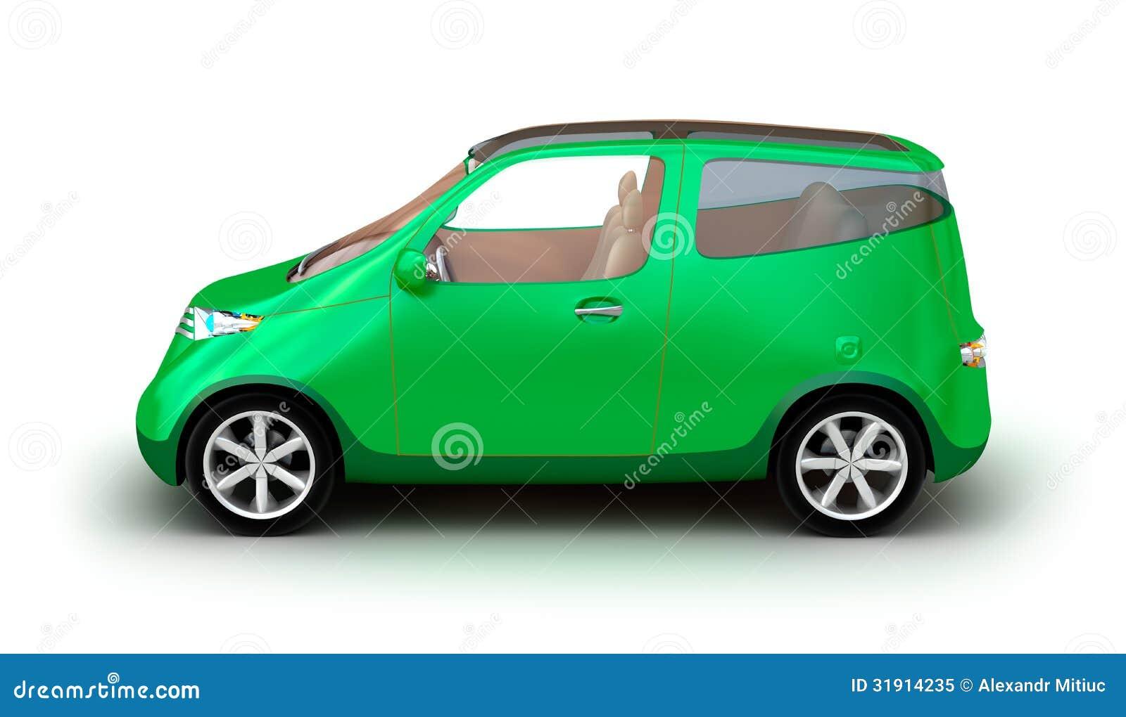 compact car on white background stock illustration image 31914235. Black Bedroom Furniture Sets. Home Design Ideas