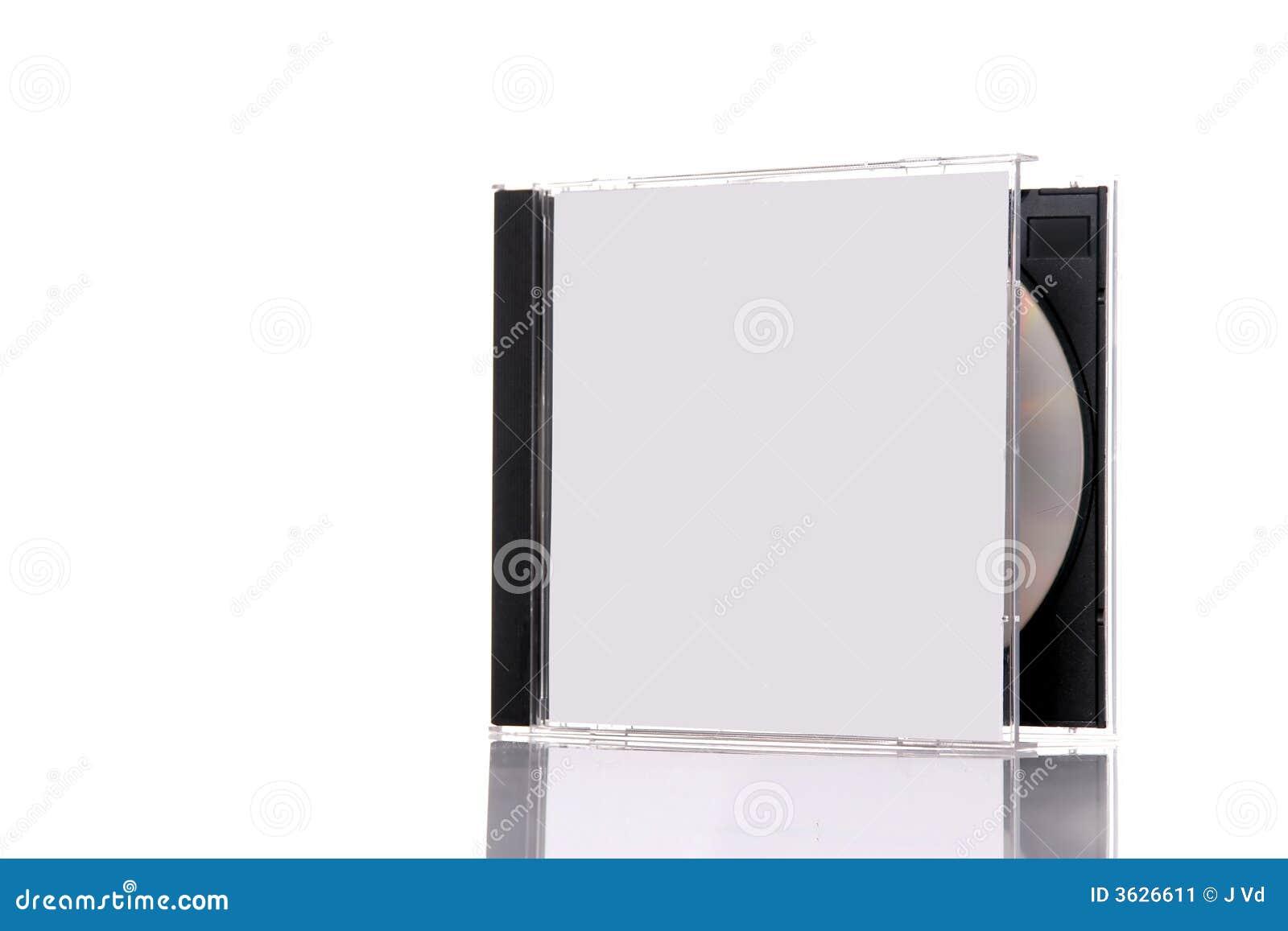 Compact disc in doos