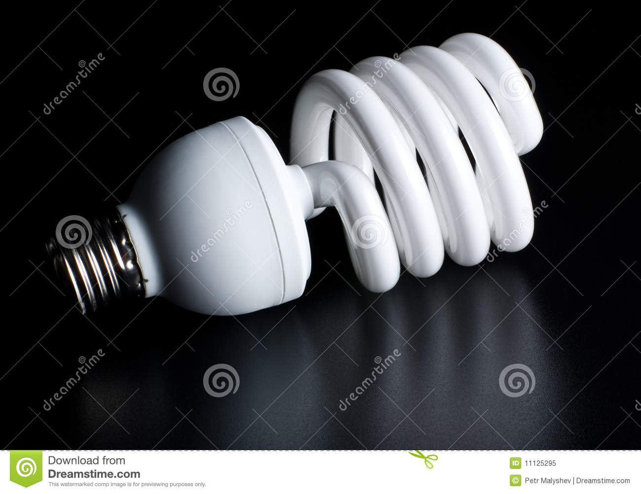 Download Compact Fluorescent Light Bulb Stock Image - Image of energy, efficiency: 11125295