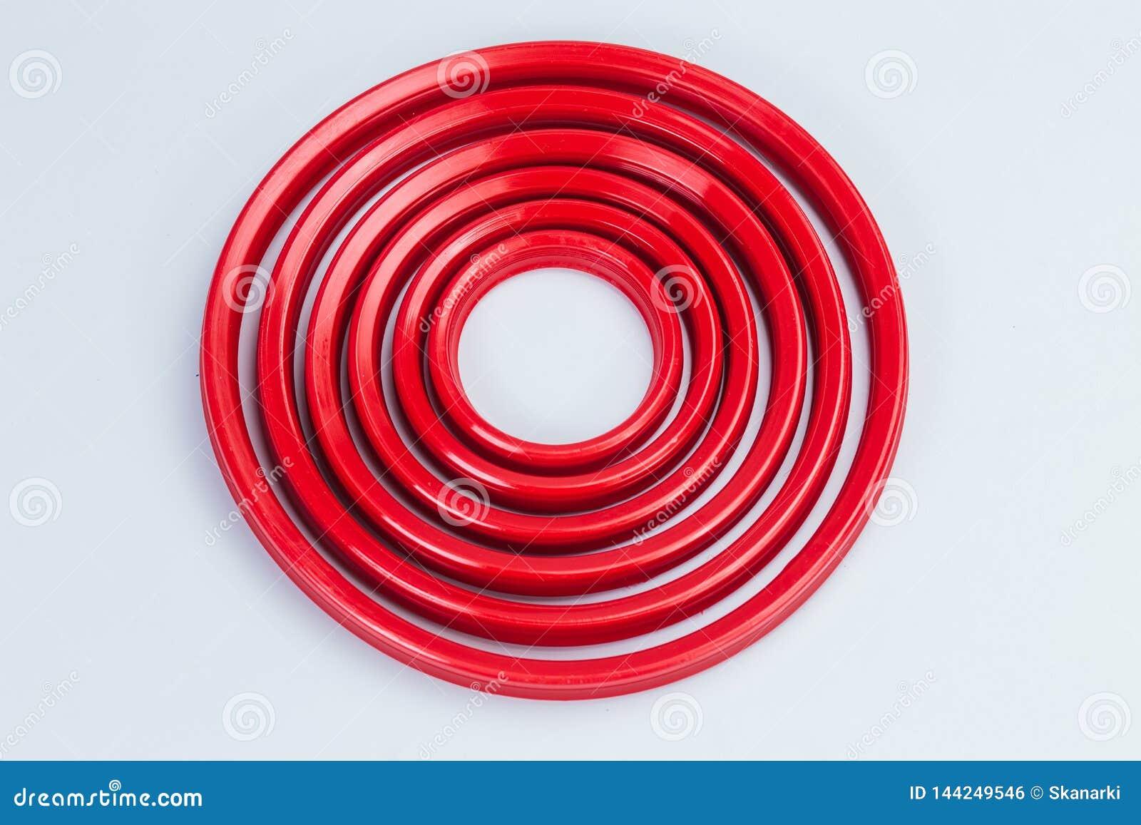 Compaction Hydraulische cilinder Verbindingen, verzegelende ringen Wissers, gidsringen, beschermende ringen polyurethaan