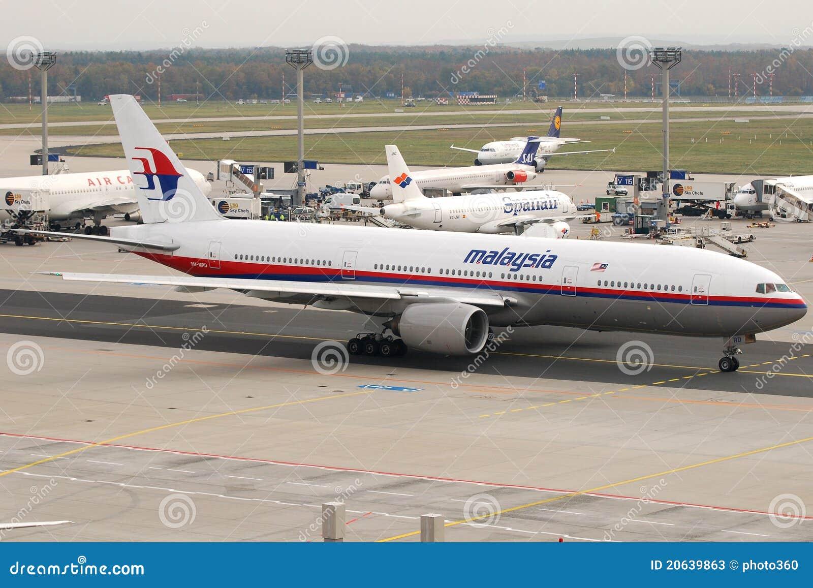 Compagnies aériennes B777 de la Malaisie