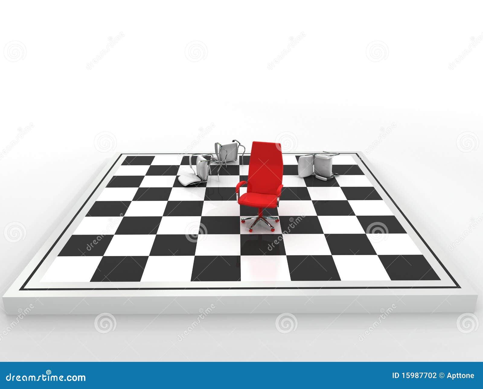 Companheiro do checkmate do negócio