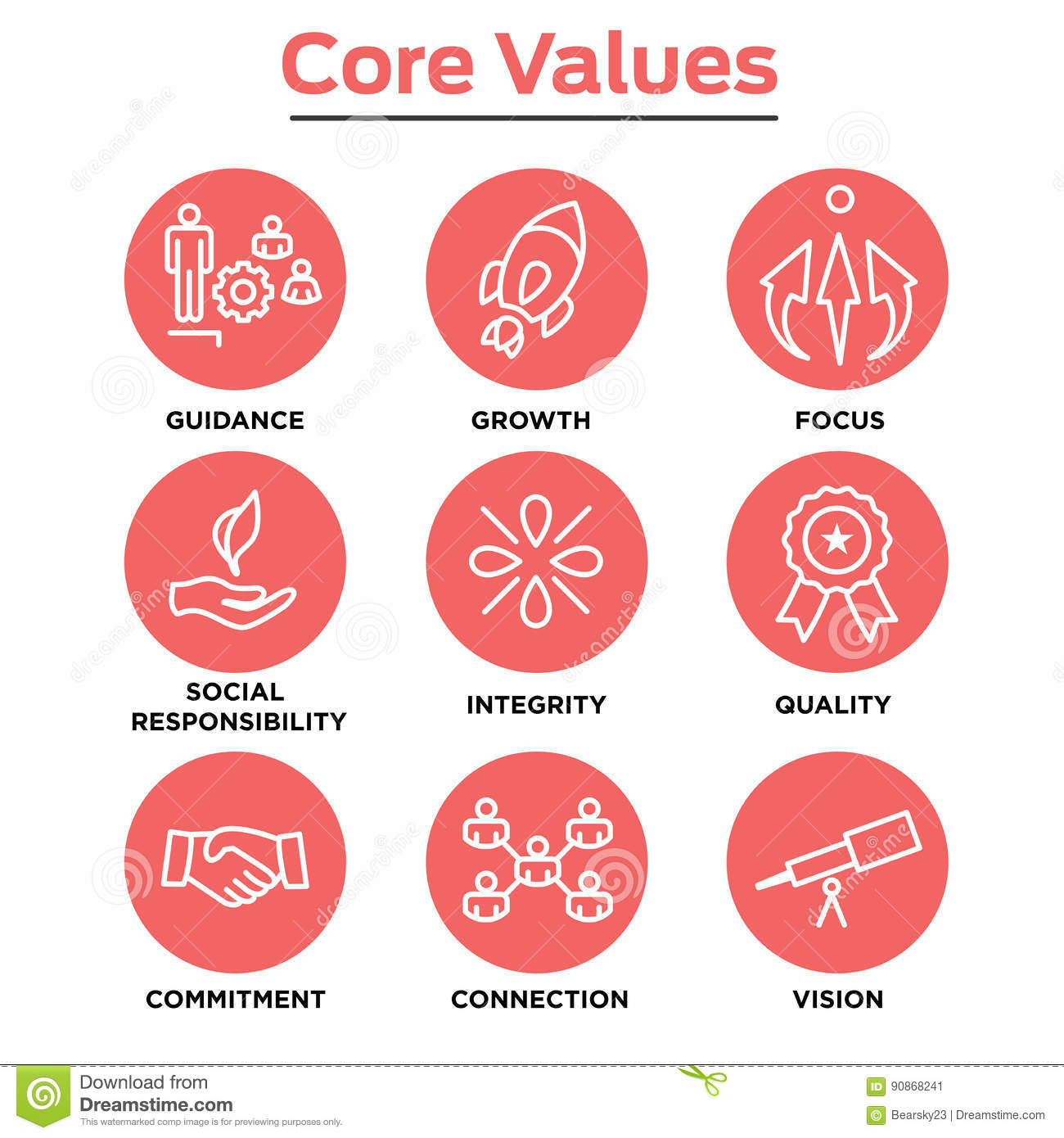 Core Values Icons Stock Illustrations 478 Core Values Icons Stock Illustrations Vectors Clipart Dreamstime
