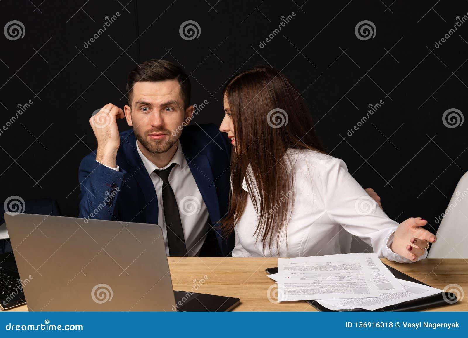 Company executiv coaching young personal secretary assistent