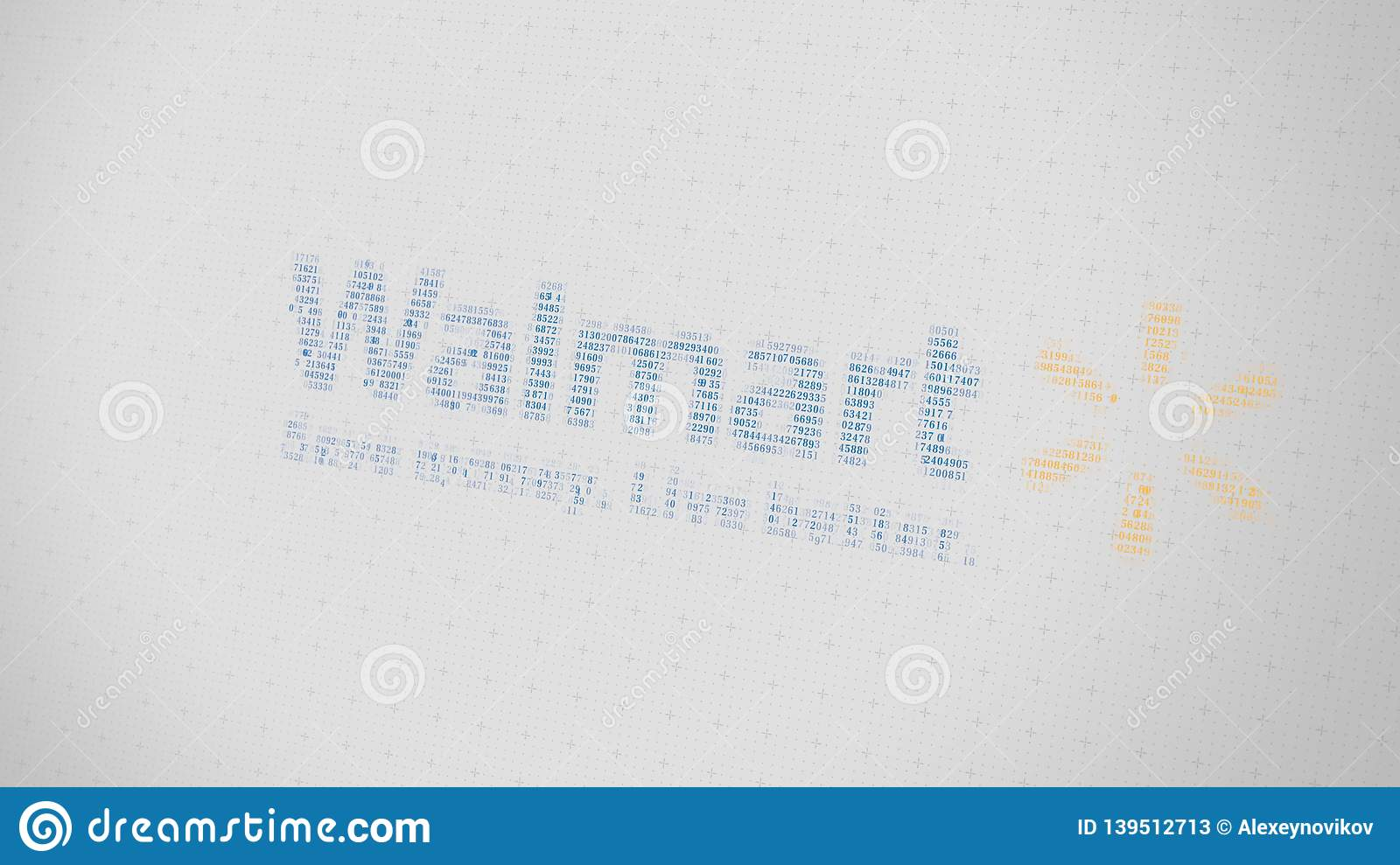 Walmart Logo Being Made With Many Numbers  Digital Business