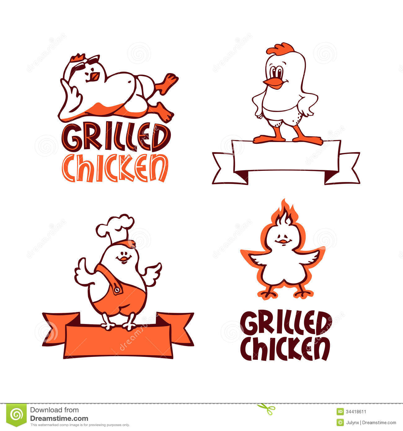 Chicken food logo - photo#10