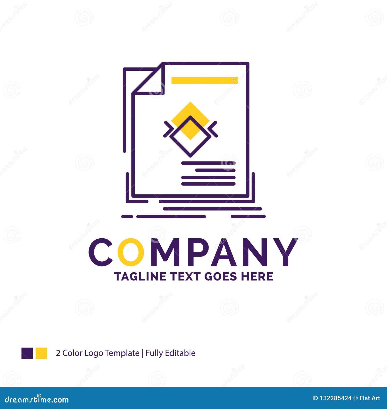 Company Name Logo Design For ad, advertisement, leaflet, magazin