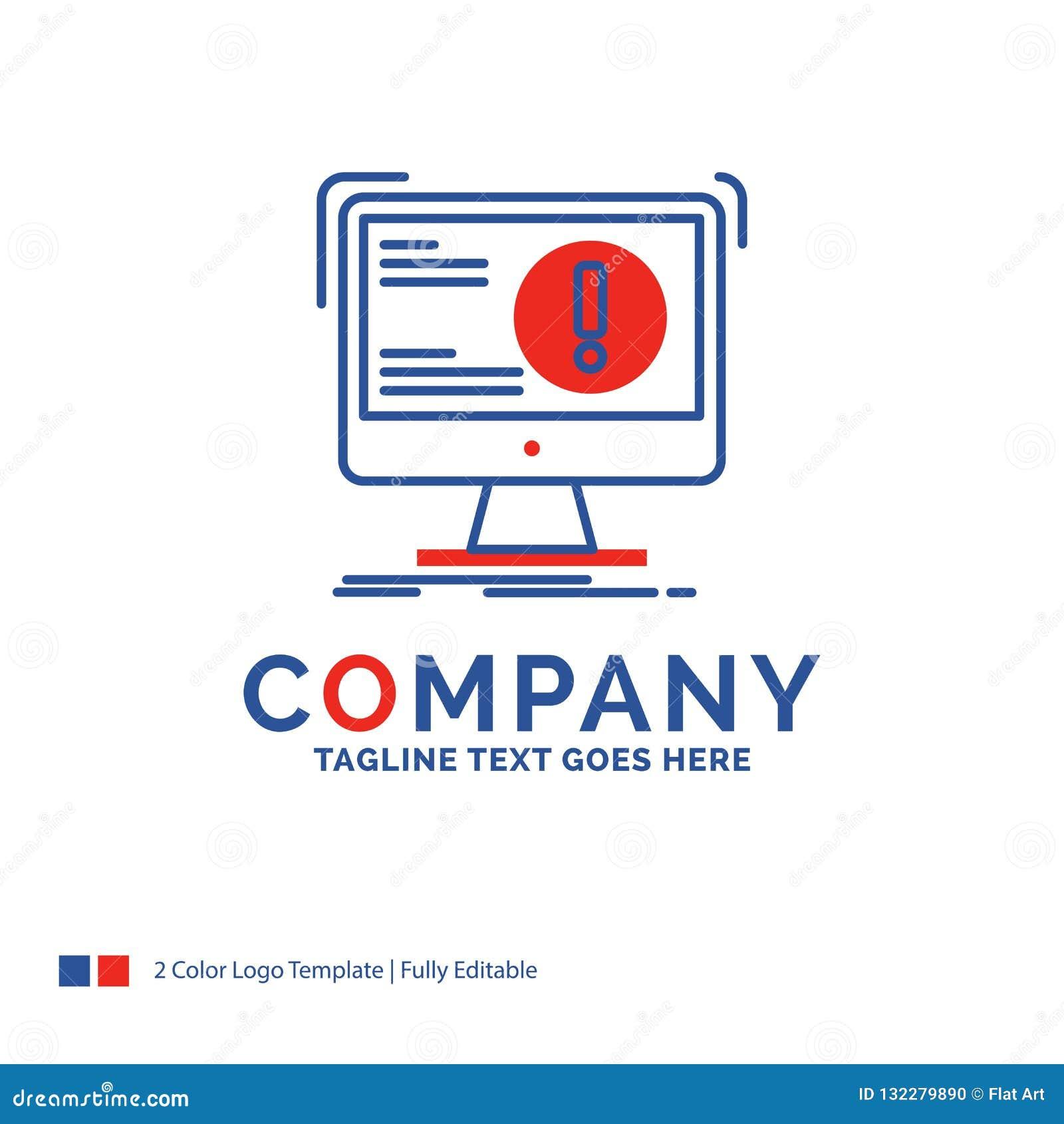Company Name Logo Design For Alert, Antivirus, Attack