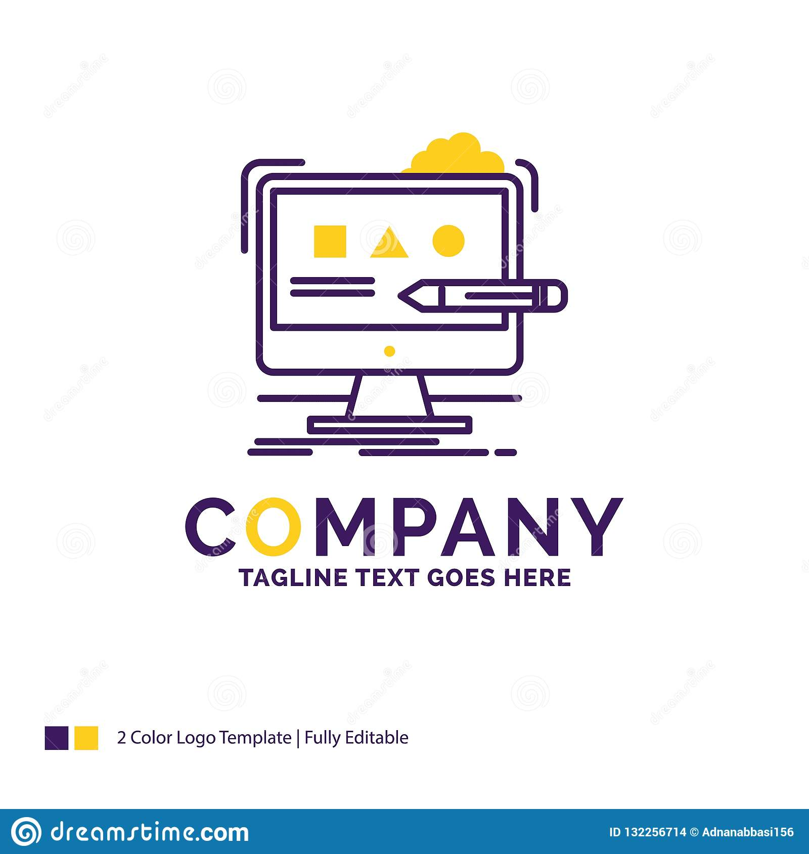 Company Name Logo Design For Art Computer Design Digital Stu