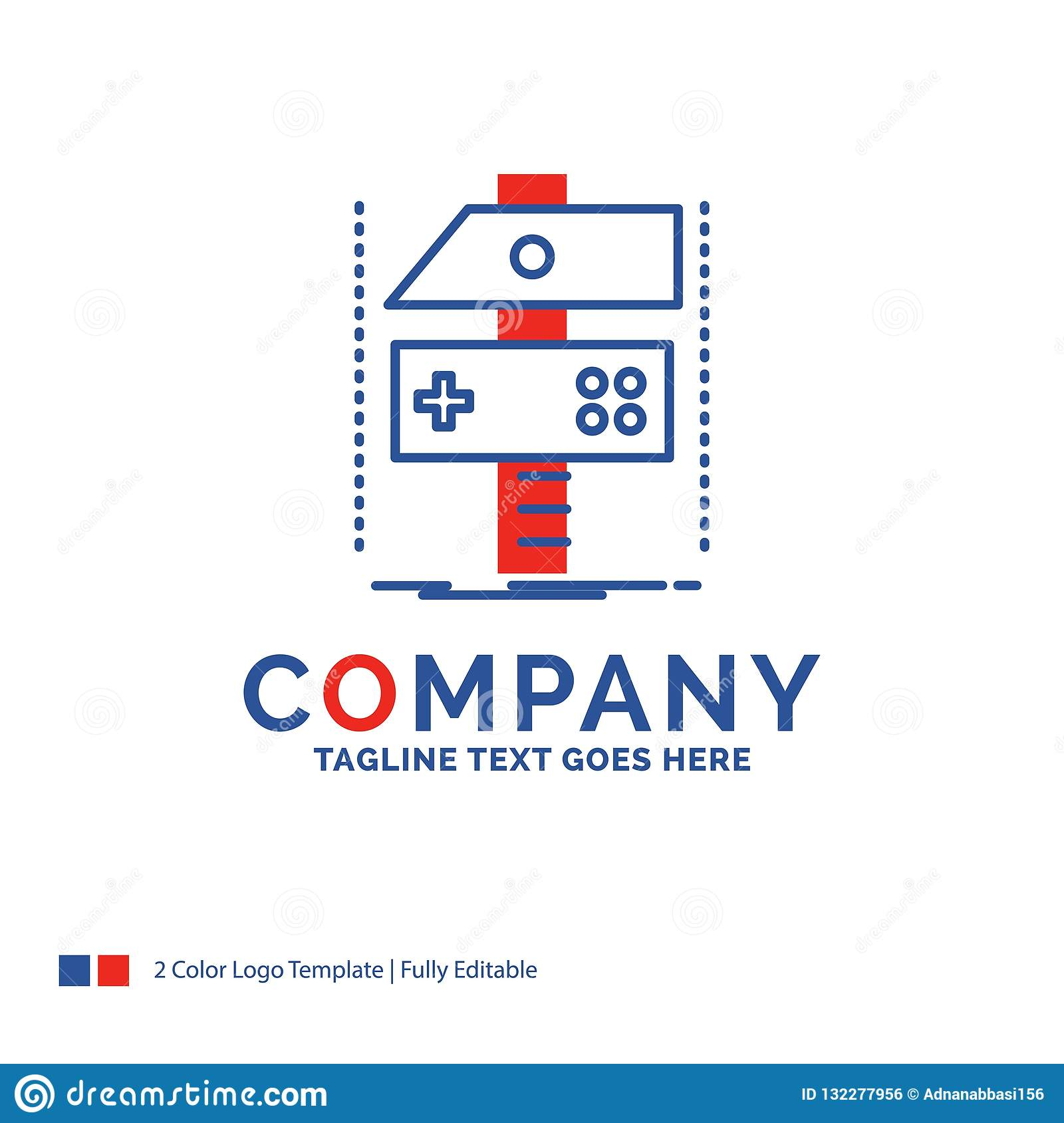 Company Name Logo Design For Build Craft Develop Developer G