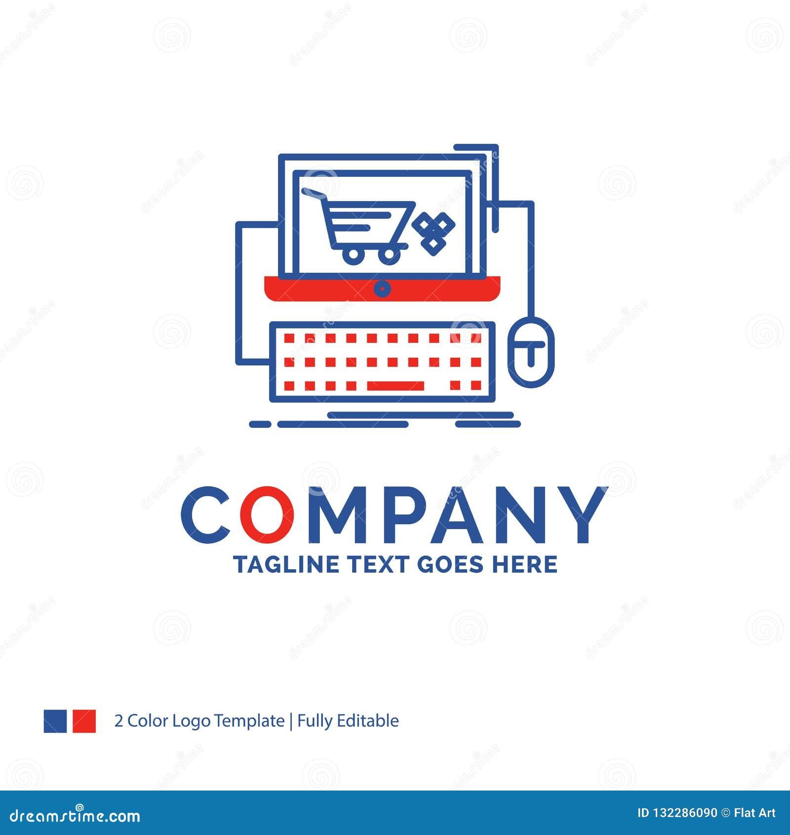 Company Name Logo Design For Cart Online Shop Store Game Bl