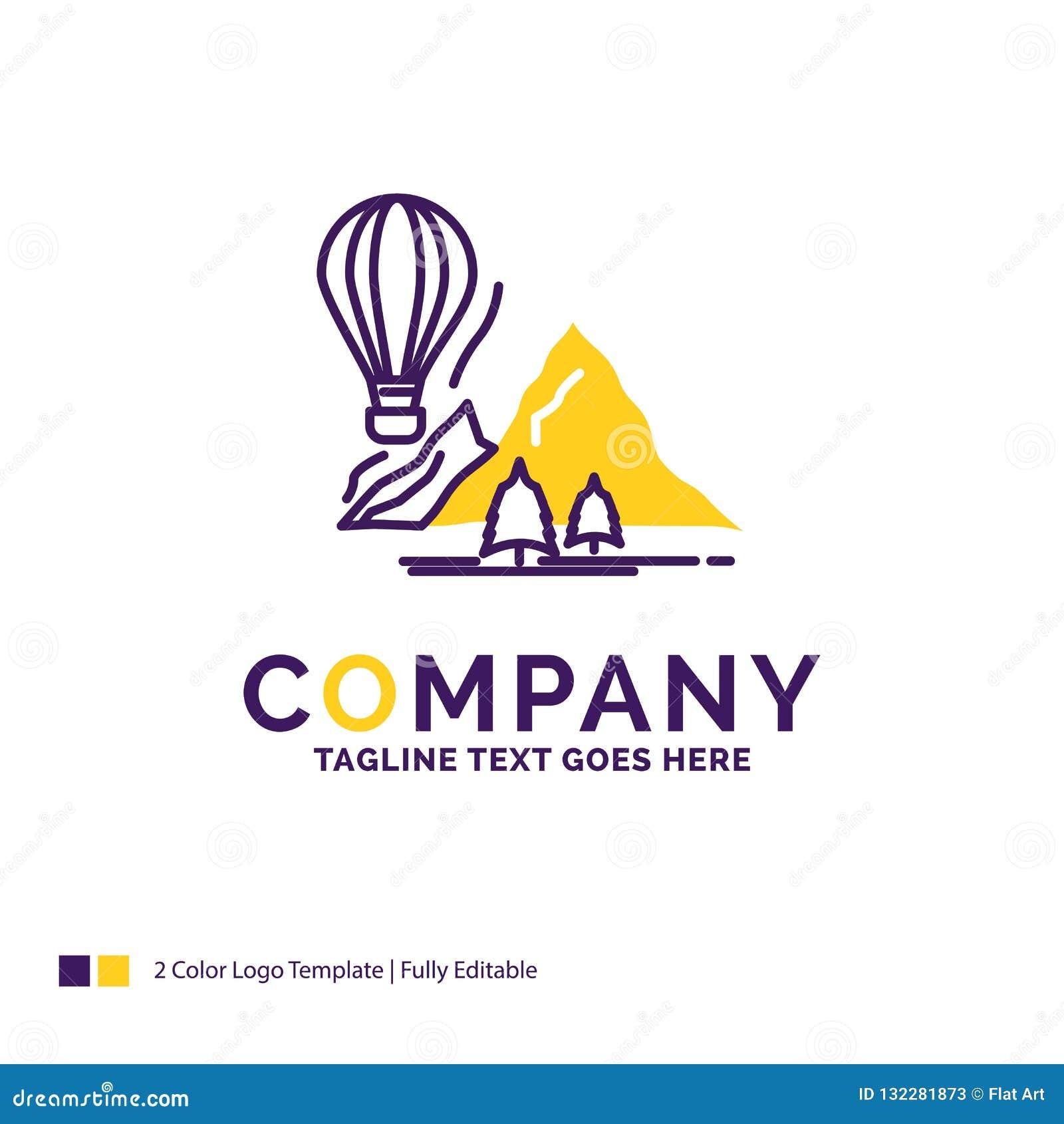 Company Name Logo Design For explore, travel, mountains, camping