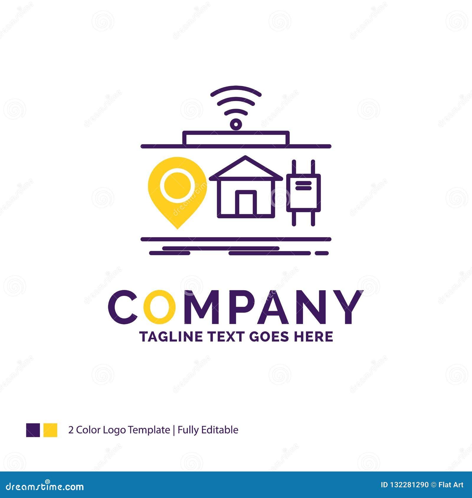 Company Name Logo Design For IOT, Gadgets, Internet, Of