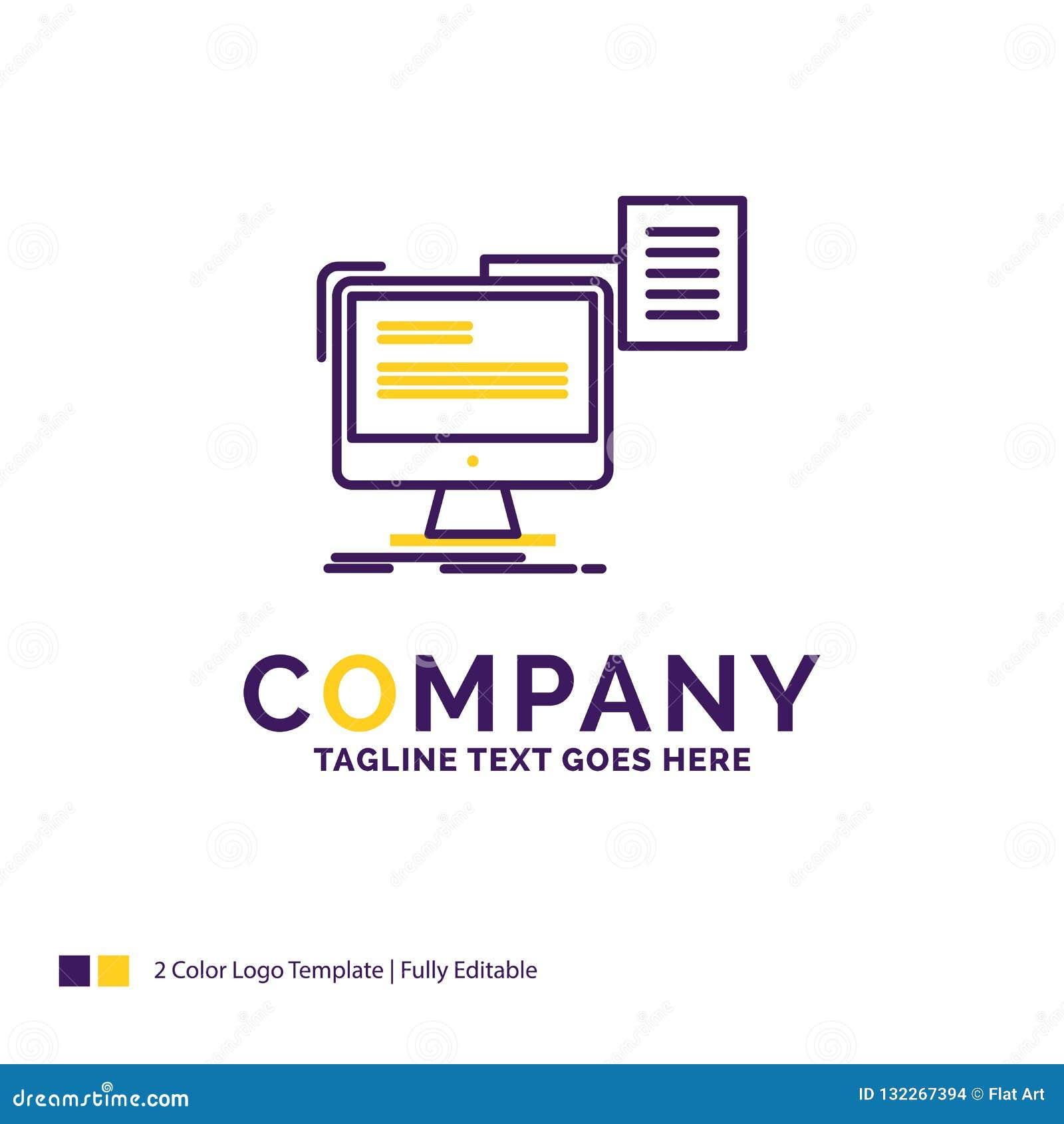 Company Name Logo Design For Resume Storage Print Cv