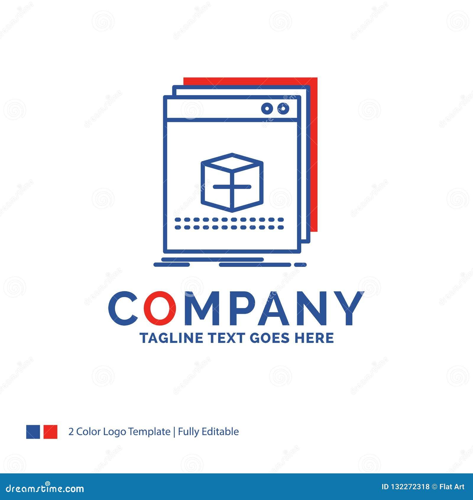 Company Name Logo Design For Software App Application File P Stock Vector Illustration Of Multimedia Document 132272318