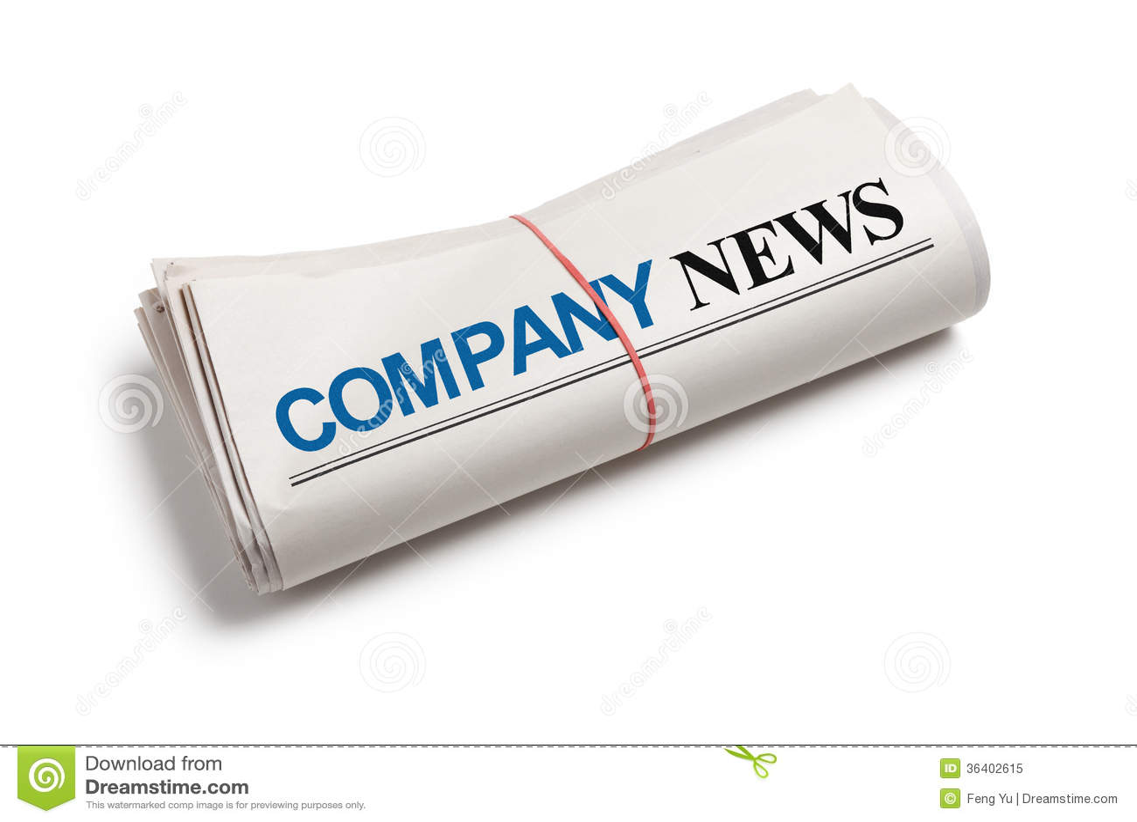 Company News Royalty Free Stock Photo - Image: 36402615