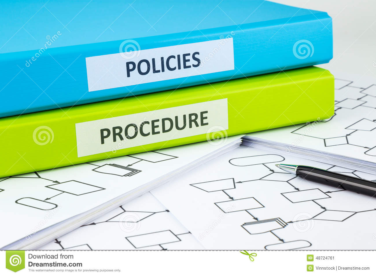 Company Policy | Company Policies And Procedures Stock Image Image Of Flow Chart