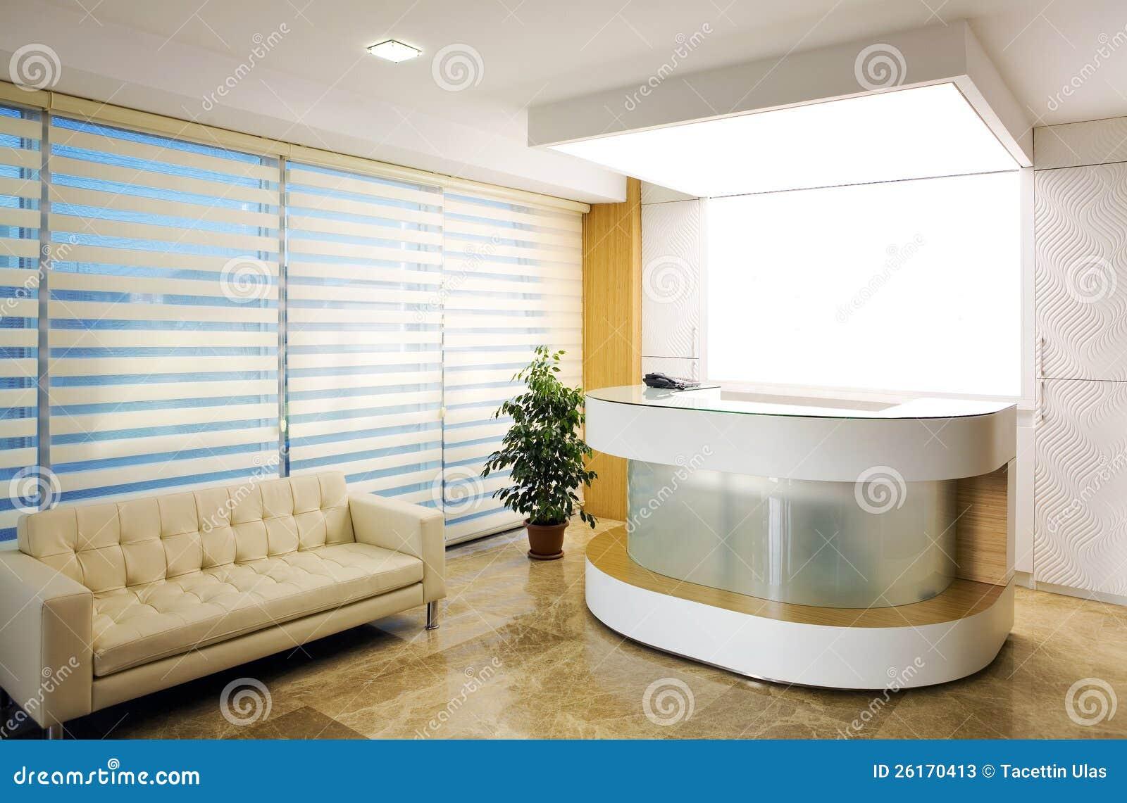 Company Reception Area Stock Photos Image 26170413