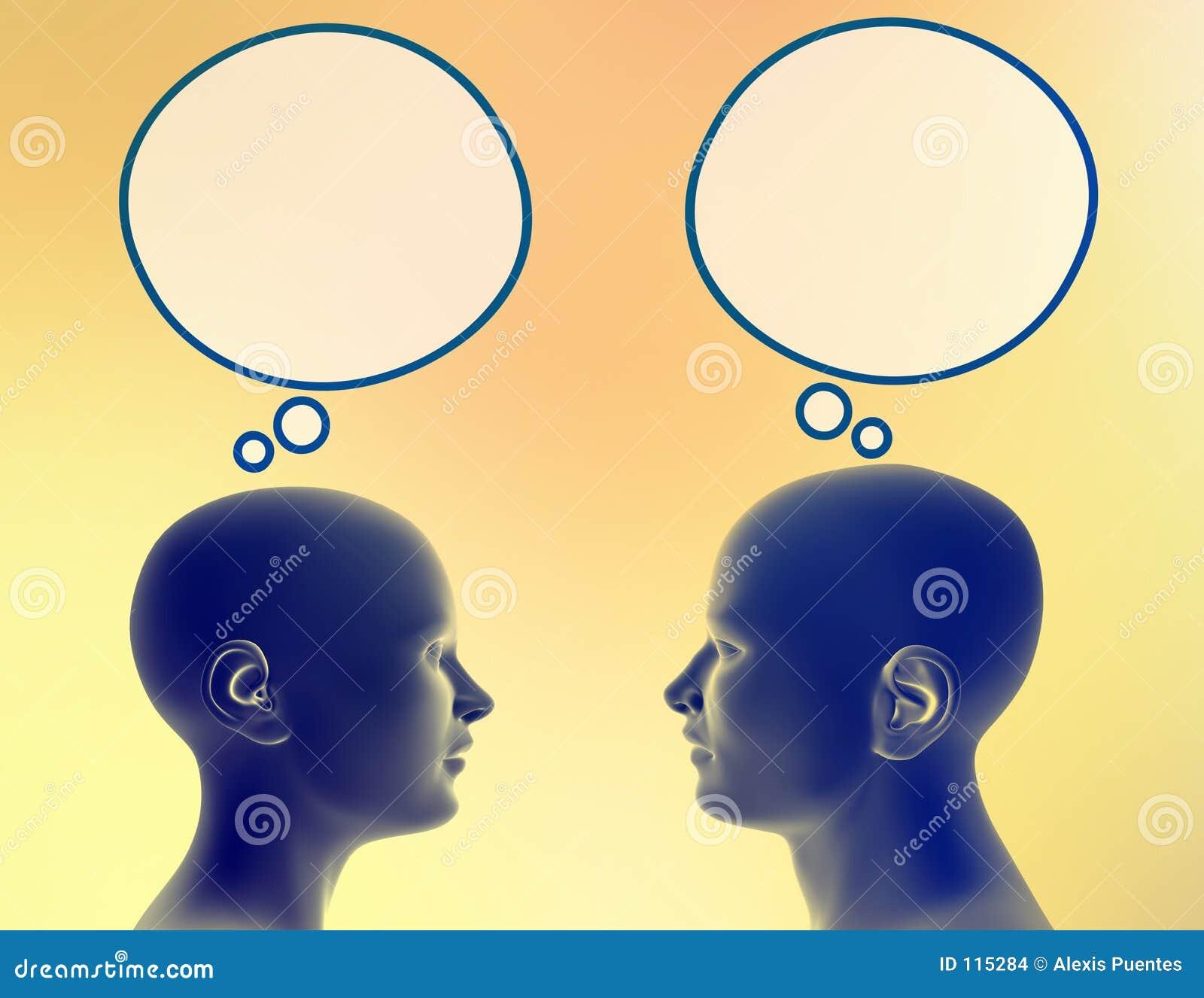 Compartilhando de seus pensamentos
