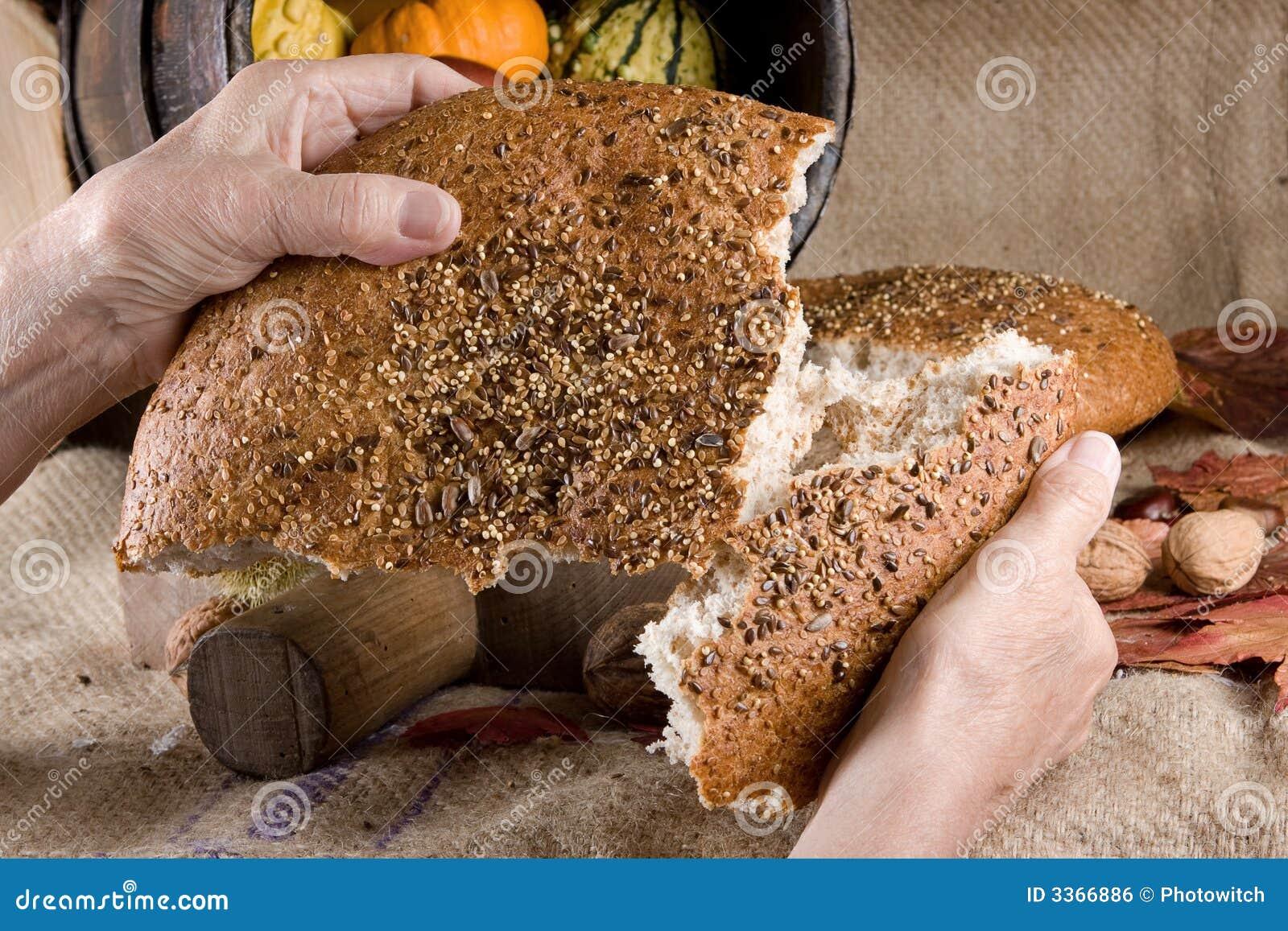 Compartilhando do pão