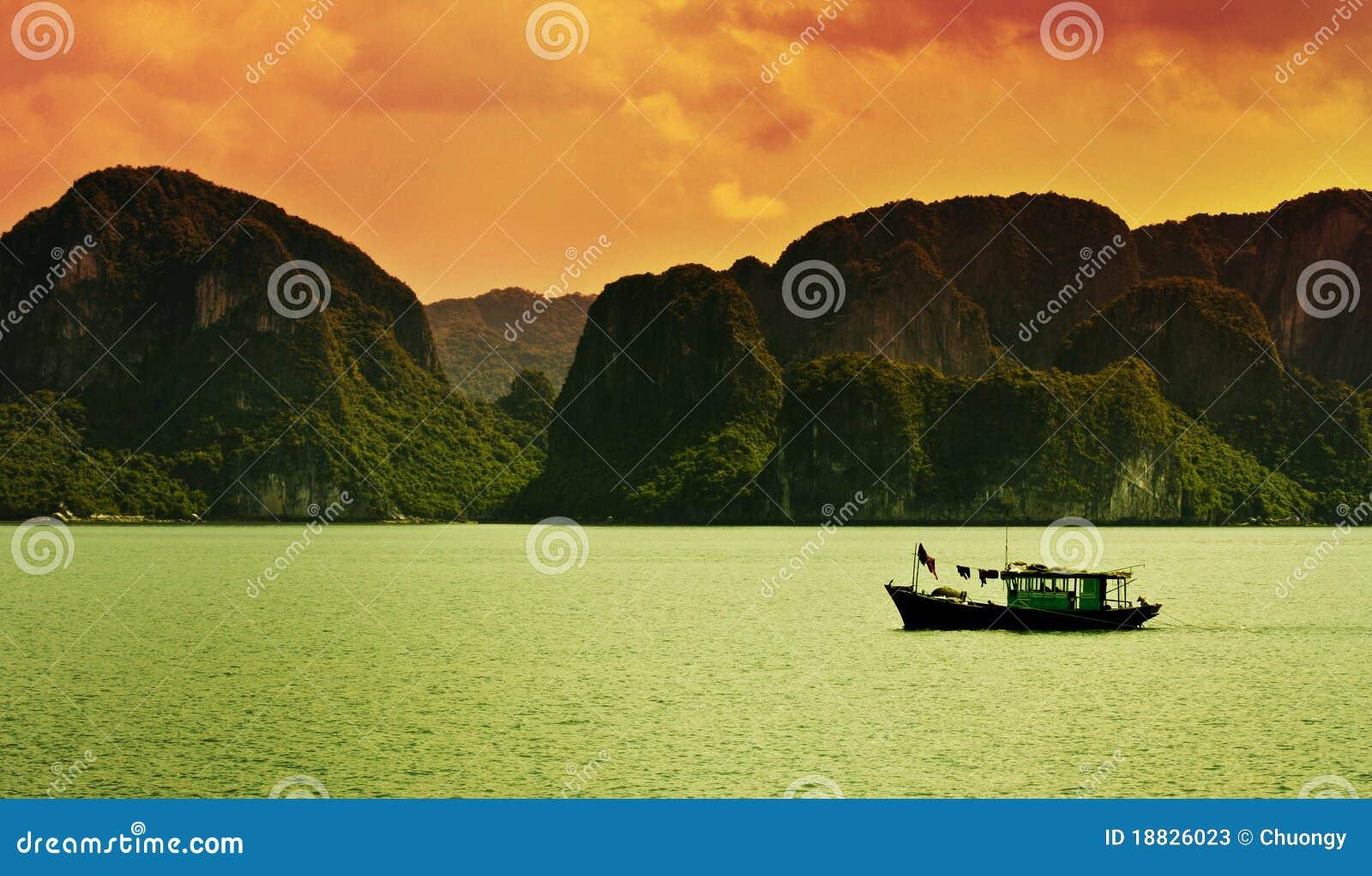 Compartiment de Halong, Vietnam