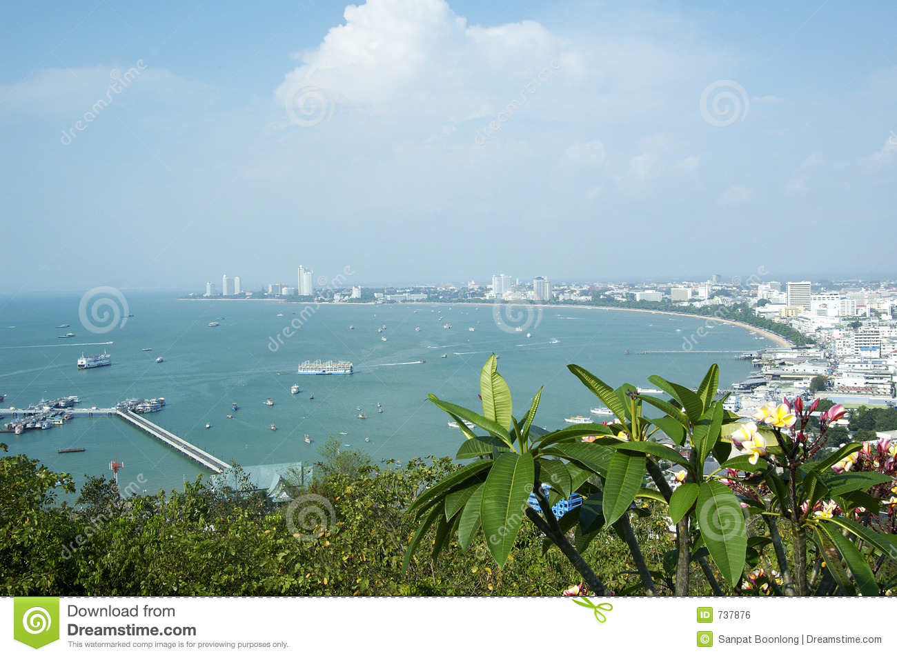 Compartiment de Pattaya.