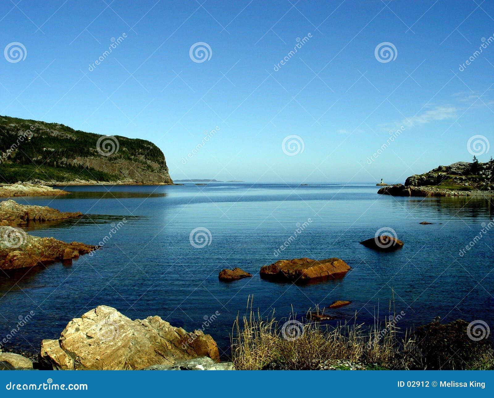 Compartiment de récupération - paysage marin