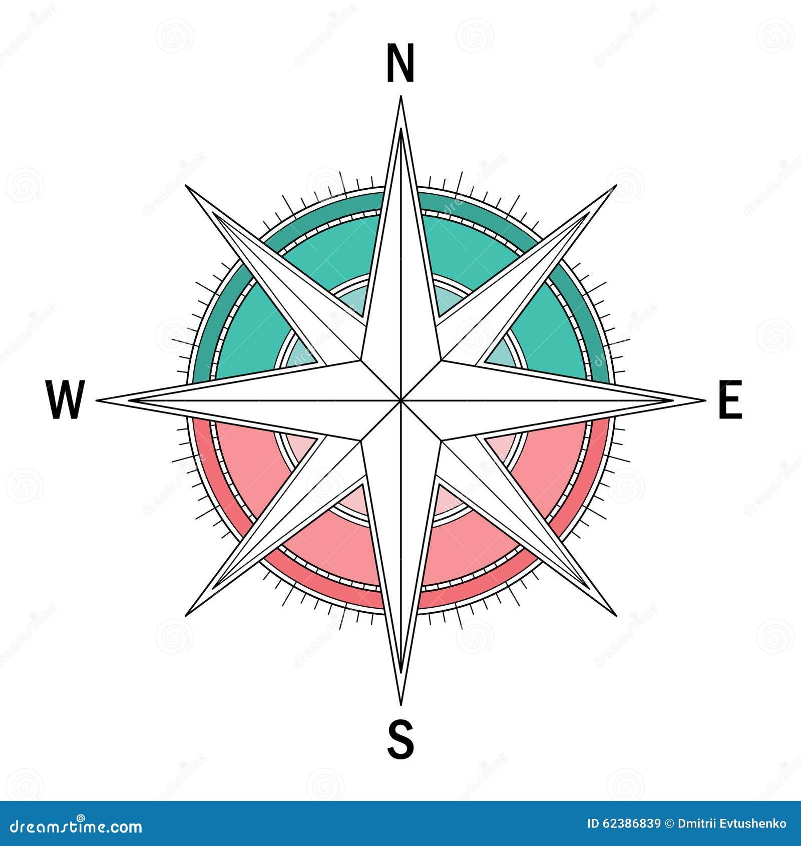 导航标记风向玫瑰图的变异映象集.