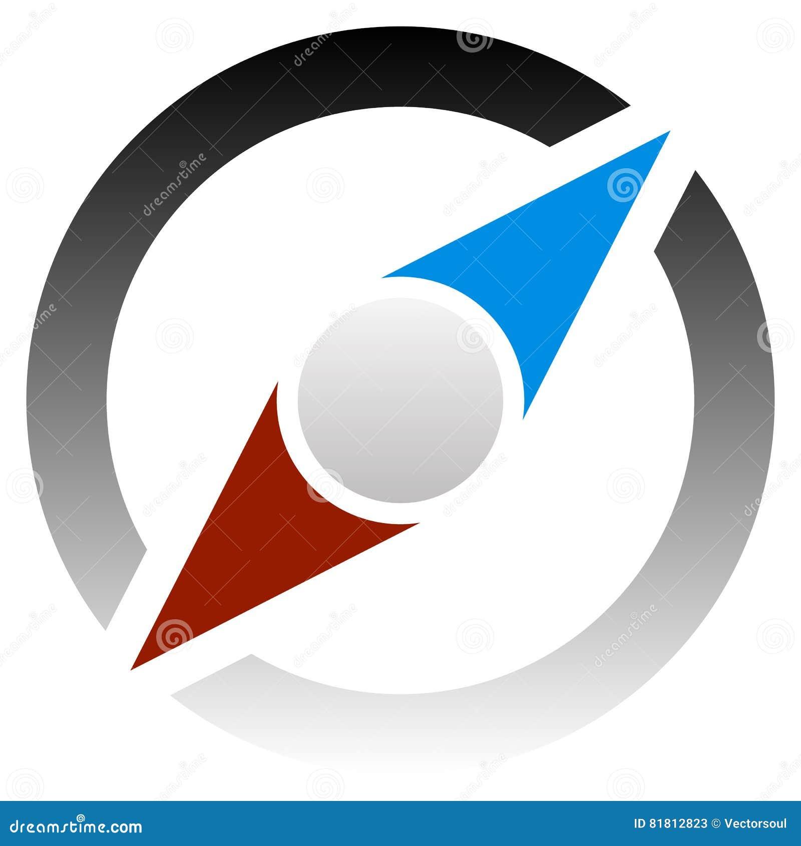 Compass значок для путешествия, задействуйте, путешествуйте, концепции наведения