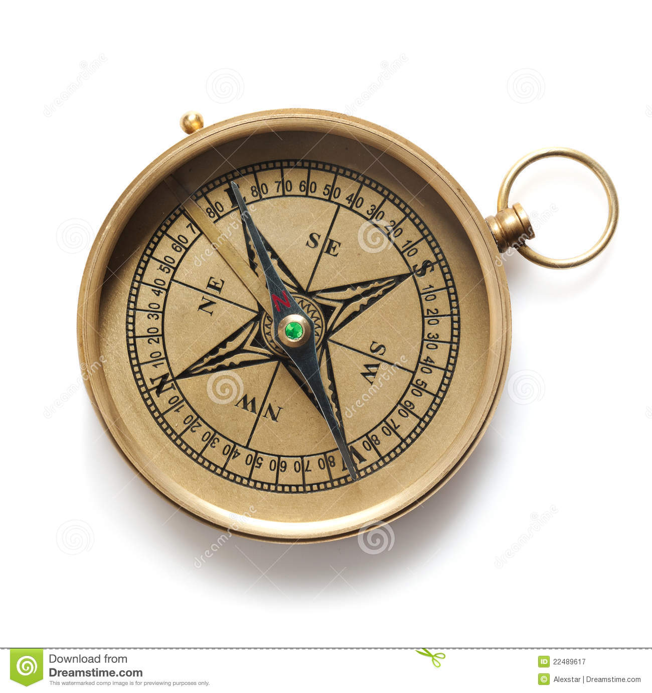 Compass Royalty Free Stock Photography - Image: 22489617
