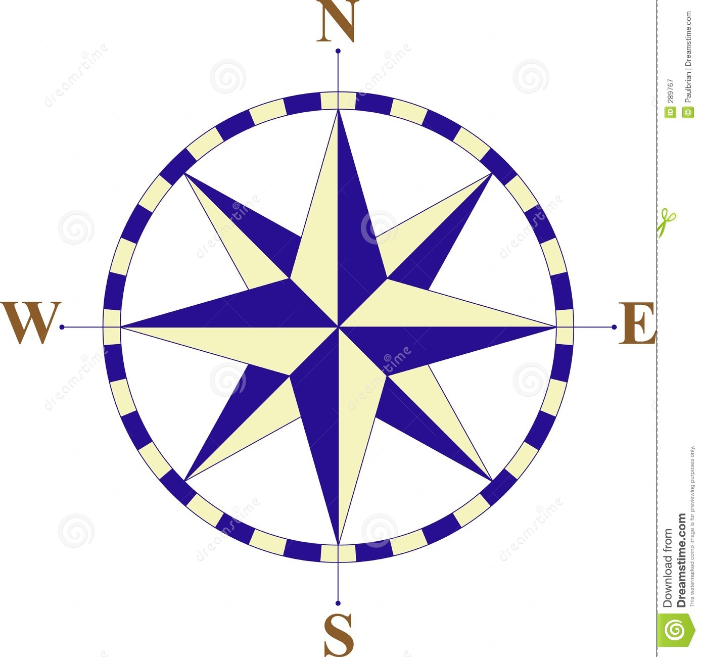 Compass Royalty Free Stock Photography - Image: 289767