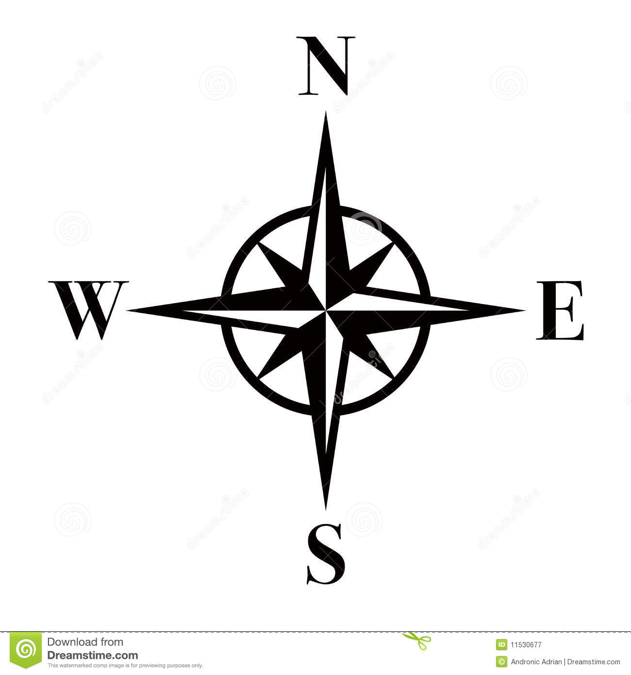 Compass/eps Royalty Free Stock Photography - Image: 11530677