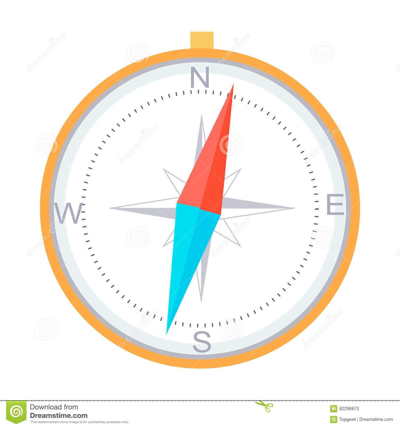 Compass instrument isolated navigation orientation stock vector compass instrument isolated navigation orientation pooptronica