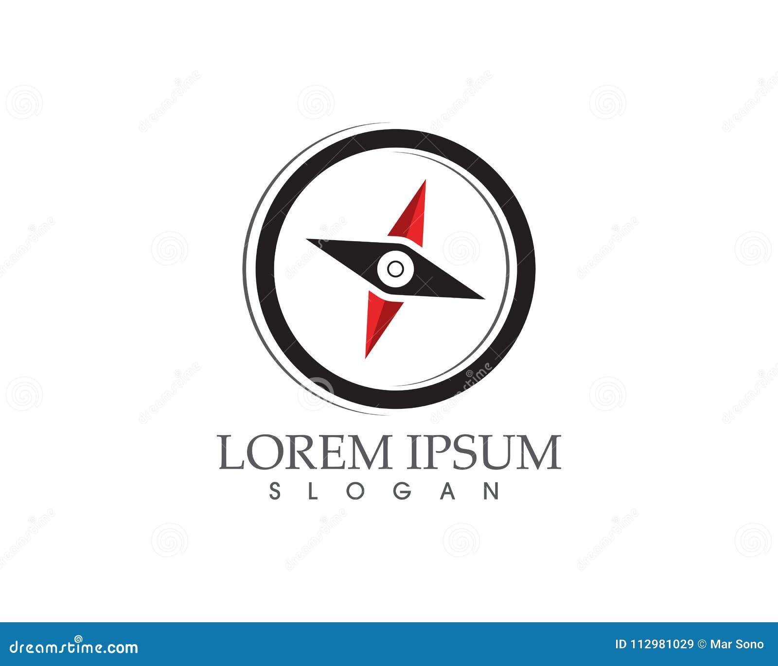 Compass logo and symbols signs and symbols logo