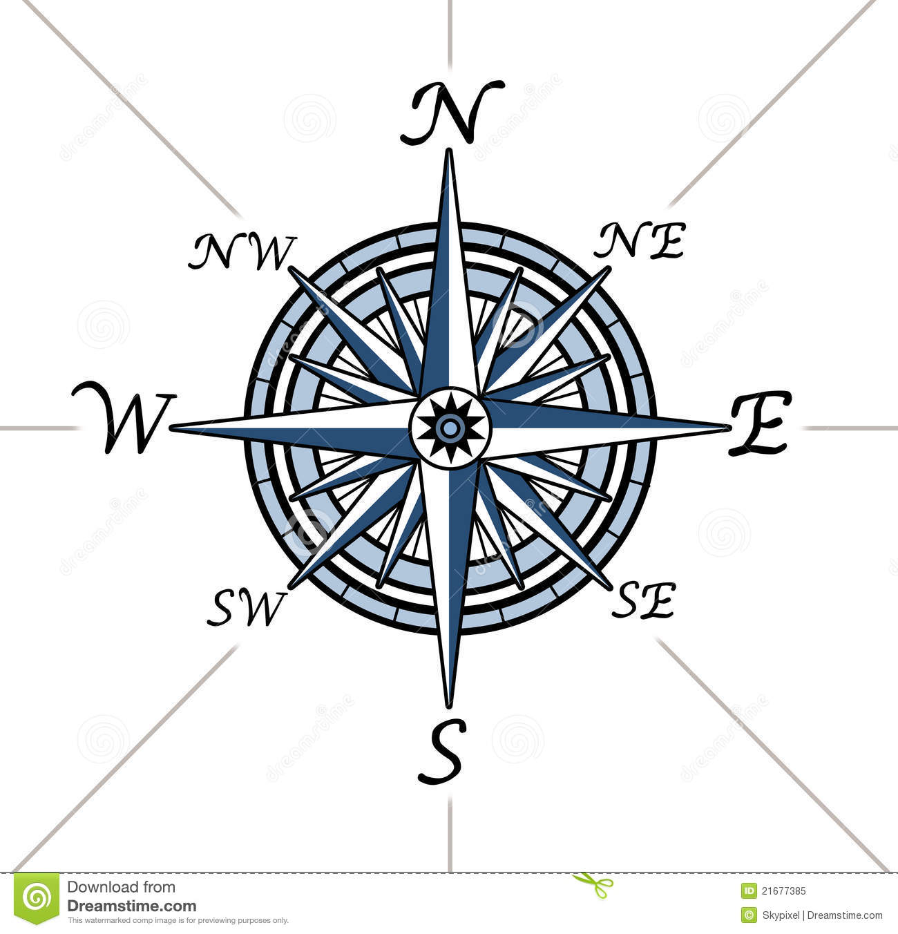 Compass rose on white background stock illustration illustration compass rose on white background biocorpaavc Image collections