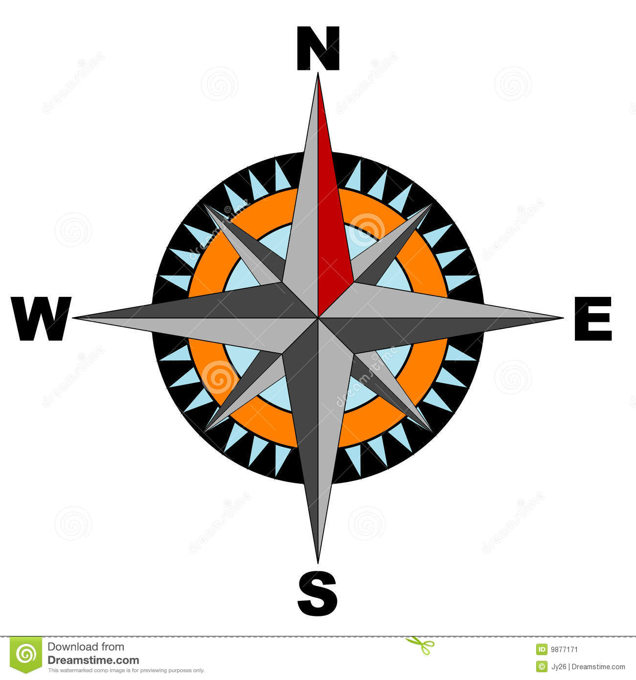compass vector included stock vector illustration of navigate rh dreamstime com compass vector free compass vector free download