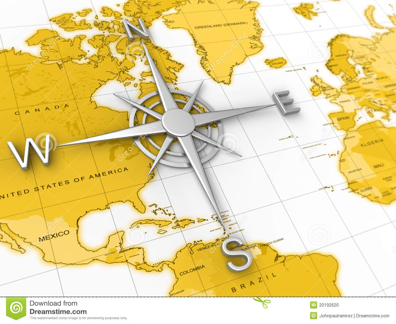 Deciding stock illustrations royalty free gograph - Compass World Map Travel Expedition Geography Stock Photo