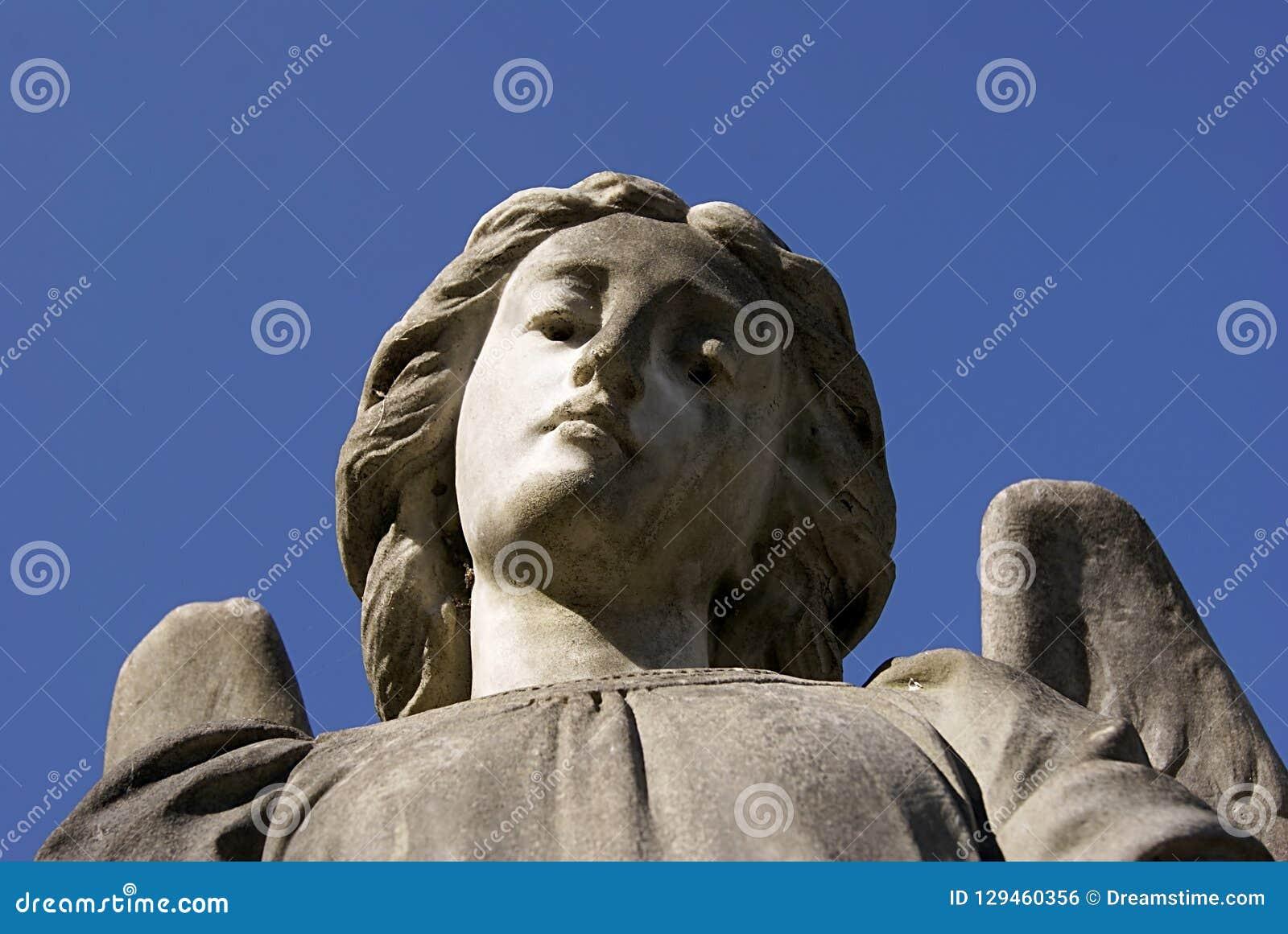 Compassionate look of beautiful ángel