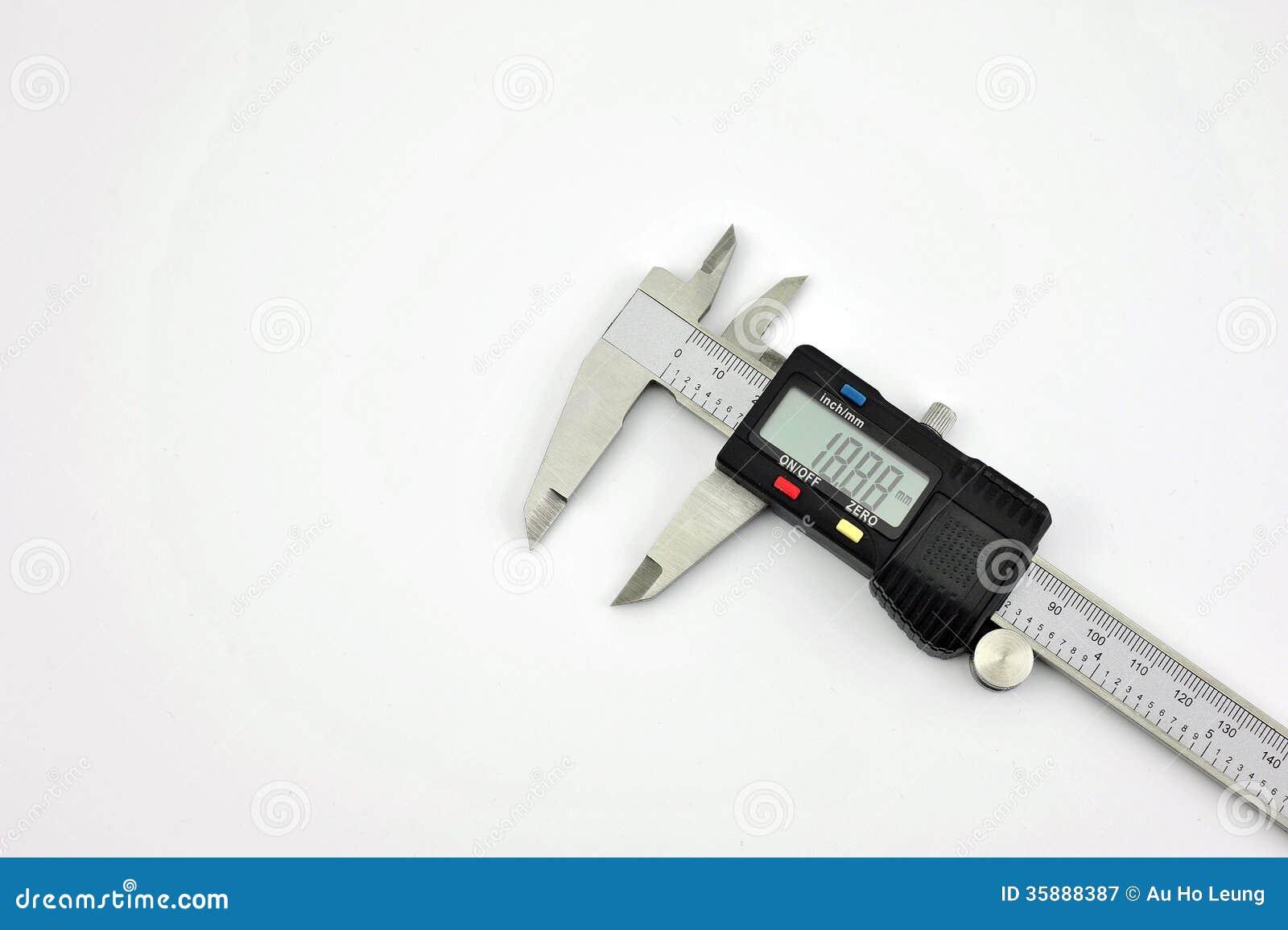 Compasso de calibre digital eletrônico