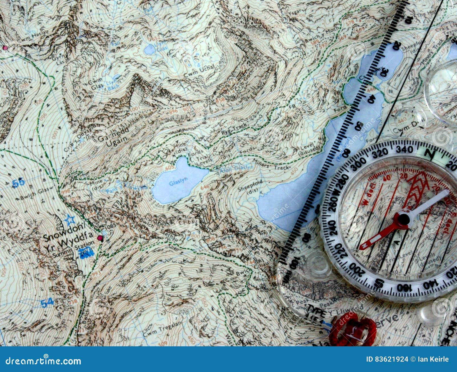 Compasso e mapa