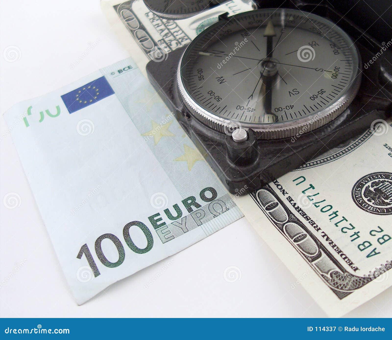 Compasso no dinheiro