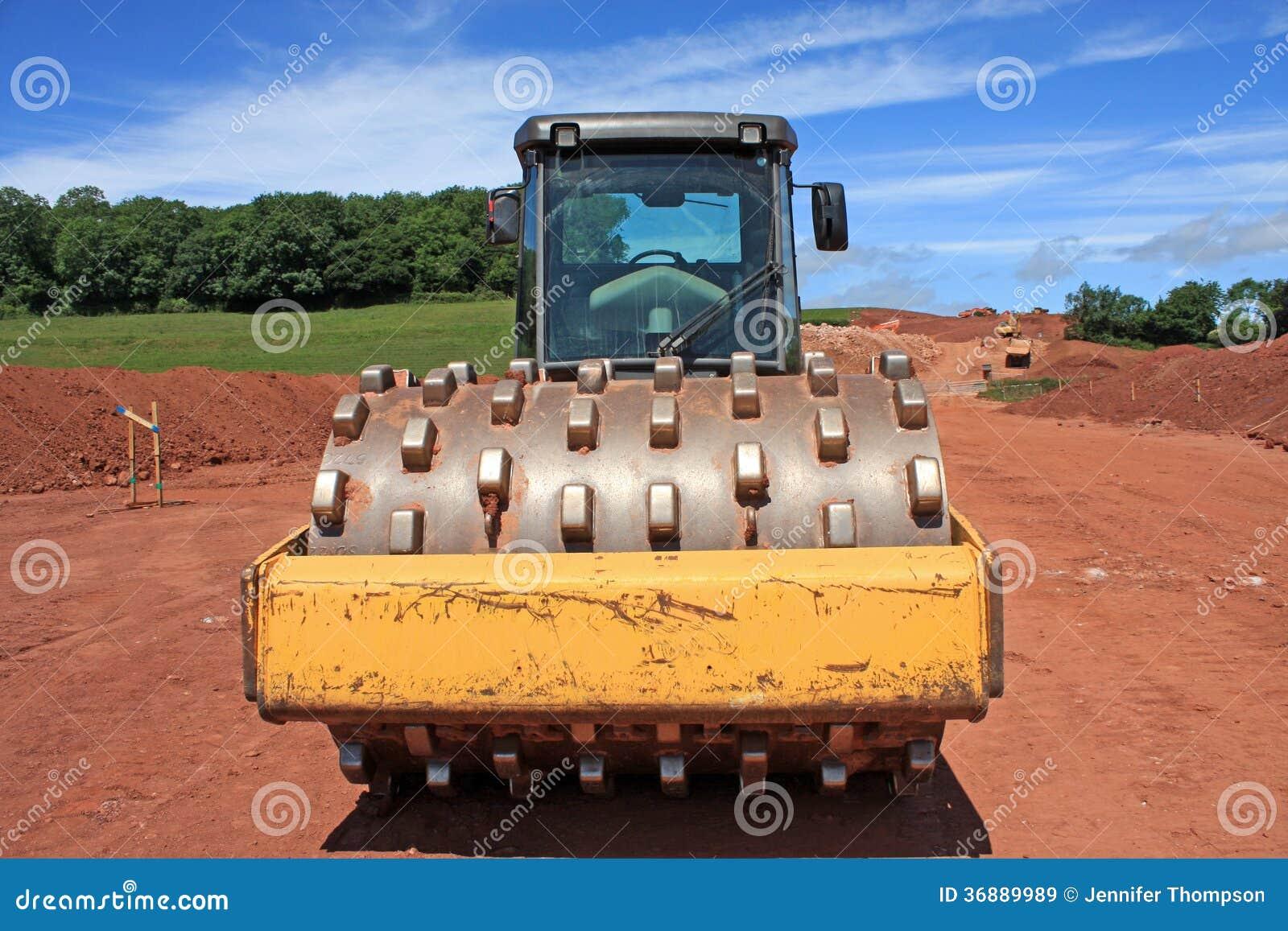 Download Compattatore immagine stock. Immagine di costruzione - 36889989