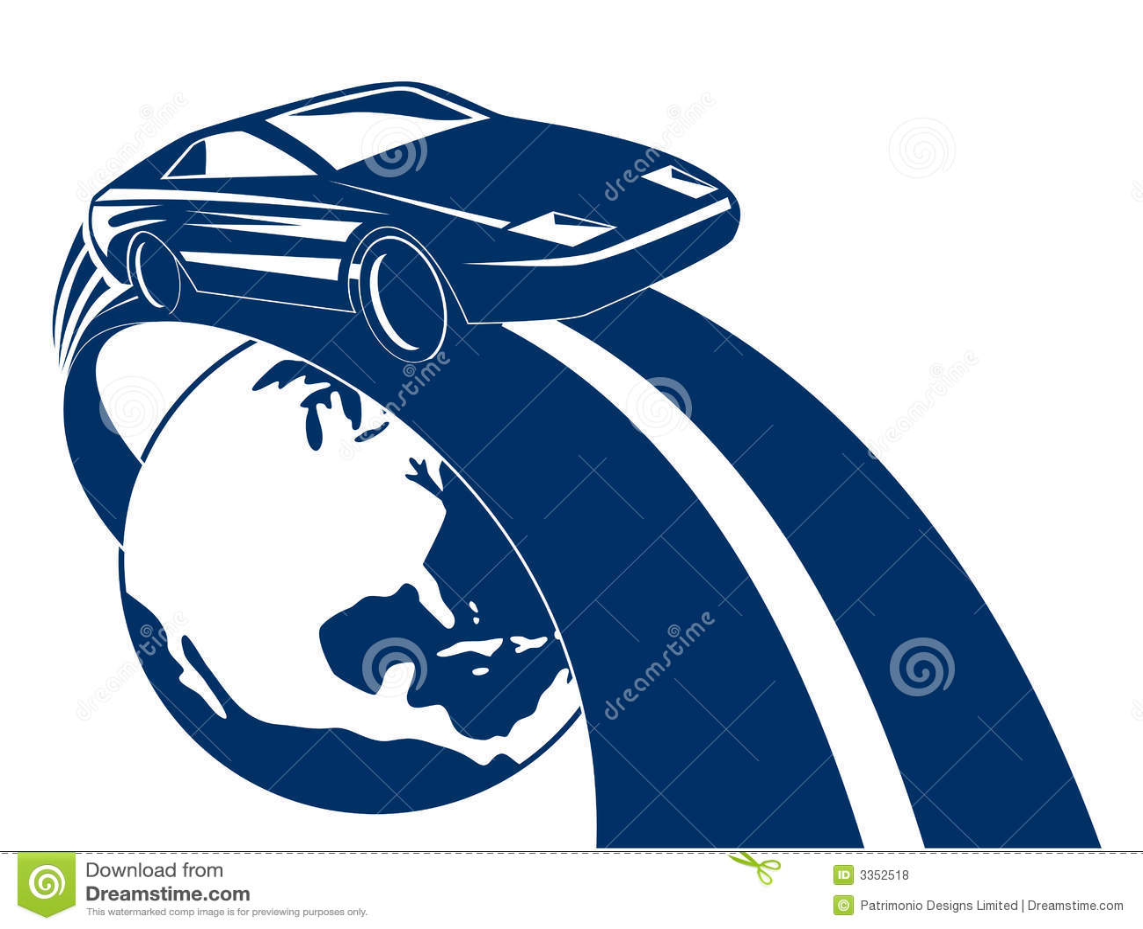 Competência de carro dos esportes fora do glob