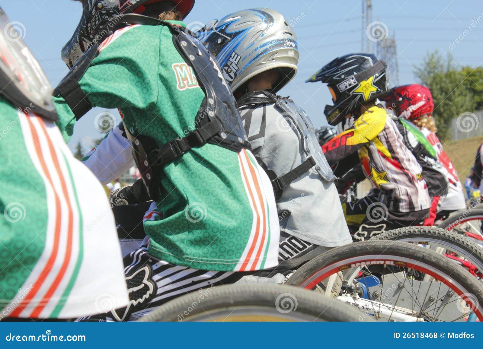 Competência do motocross