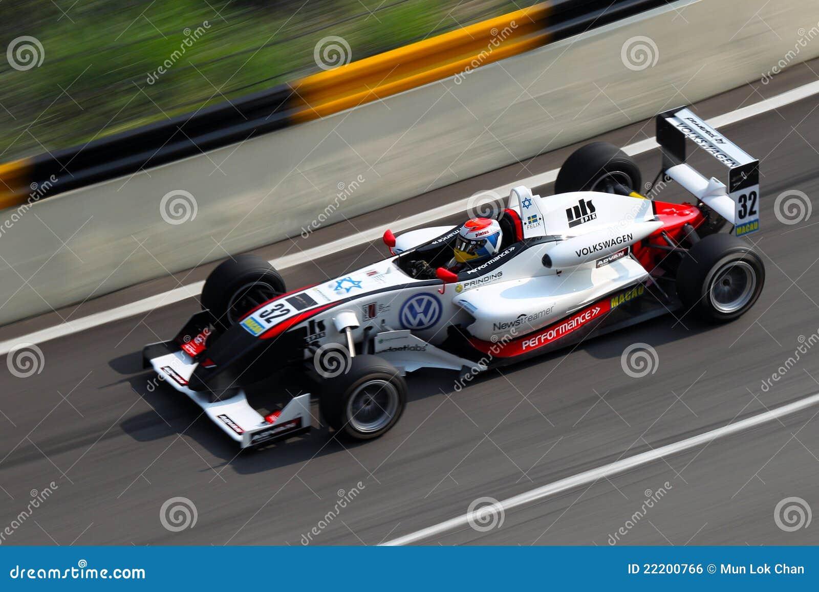 Competência grande do F3 de Macau Prix